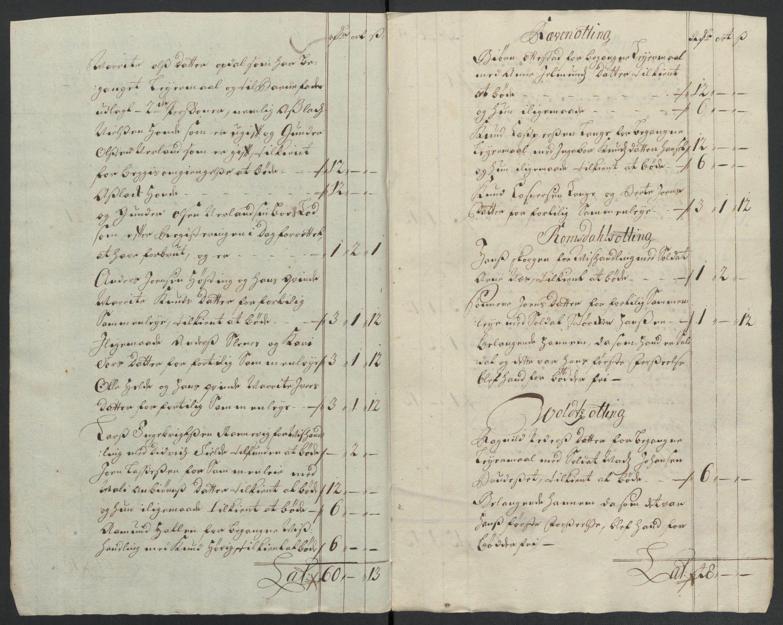 RA, Rentekammeret inntil 1814, Reviderte regnskaper, Fogderegnskap, R55/L3655: Fogderegnskap Romsdal, 1701-1702, s. 253