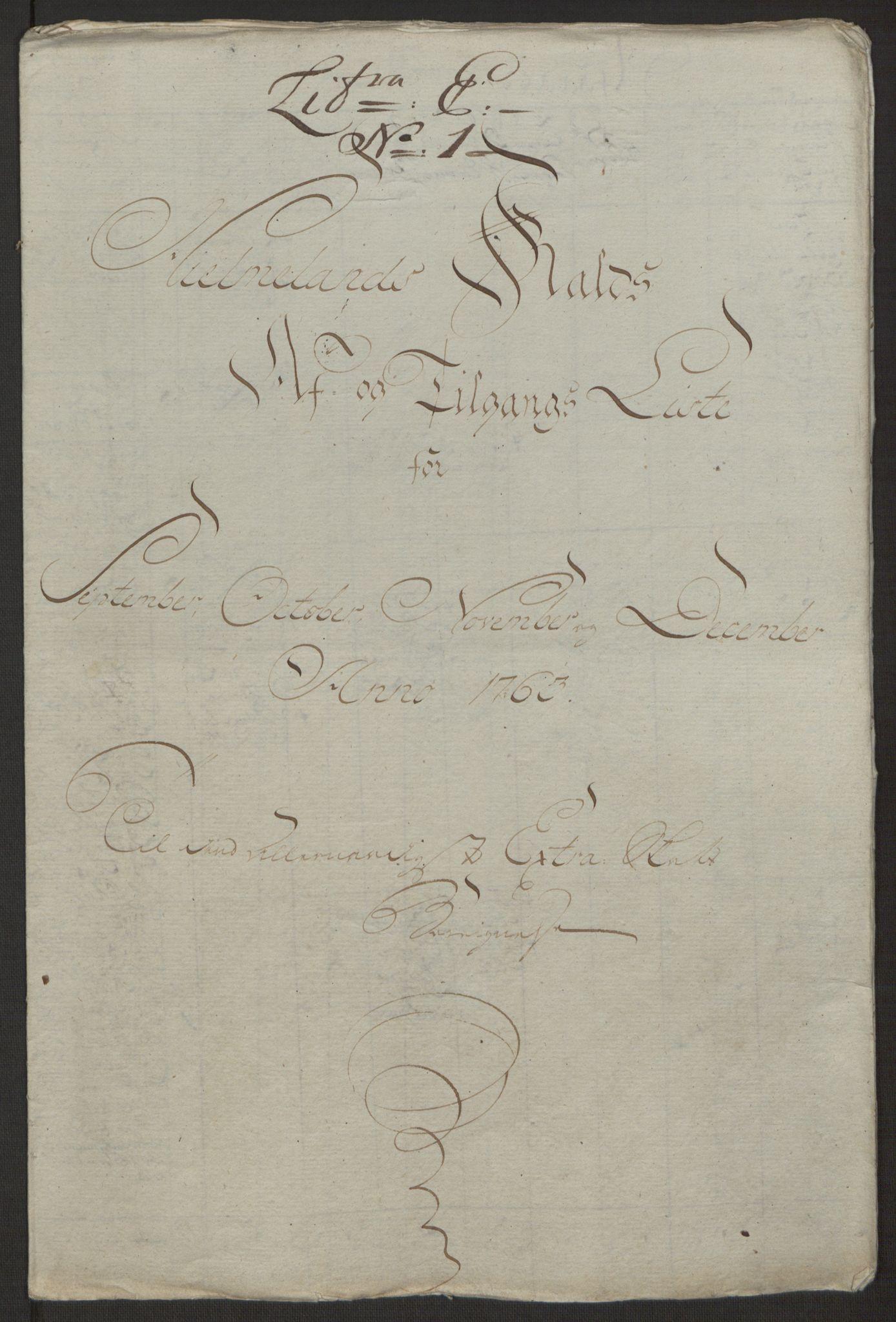 RA, Rentekammeret inntil 1814, Realistisk ordnet avdeling, Ol/L0016a: [Gg 10]: Ekstraskatten, 23.09.1762. Ryfylke, 1762-1768, s. 277