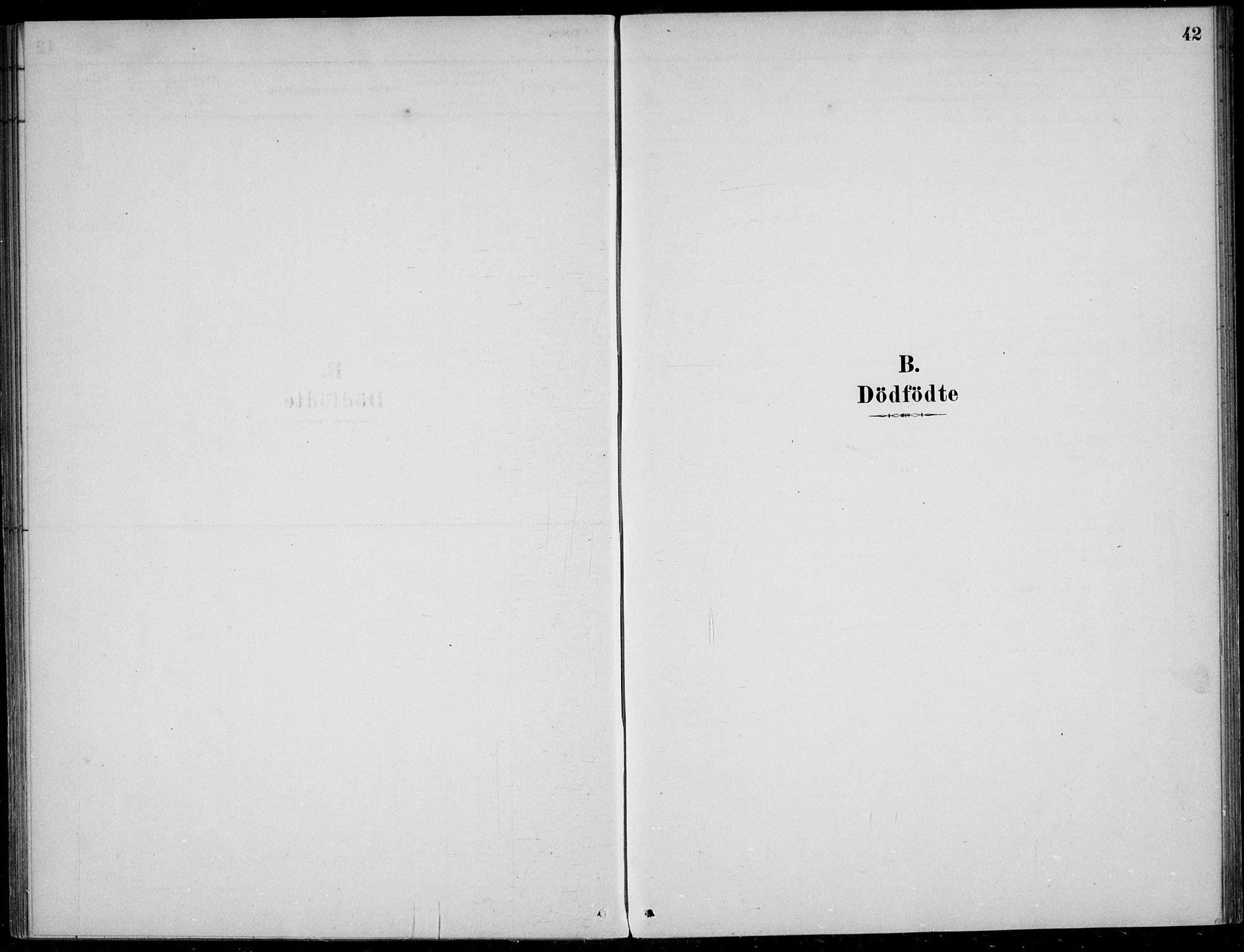 SAB, Sogndal Sokneprestembete, H/Haa/Haad/L0001: Ministerialbok nr. D  1, 1878-1907, s. 42