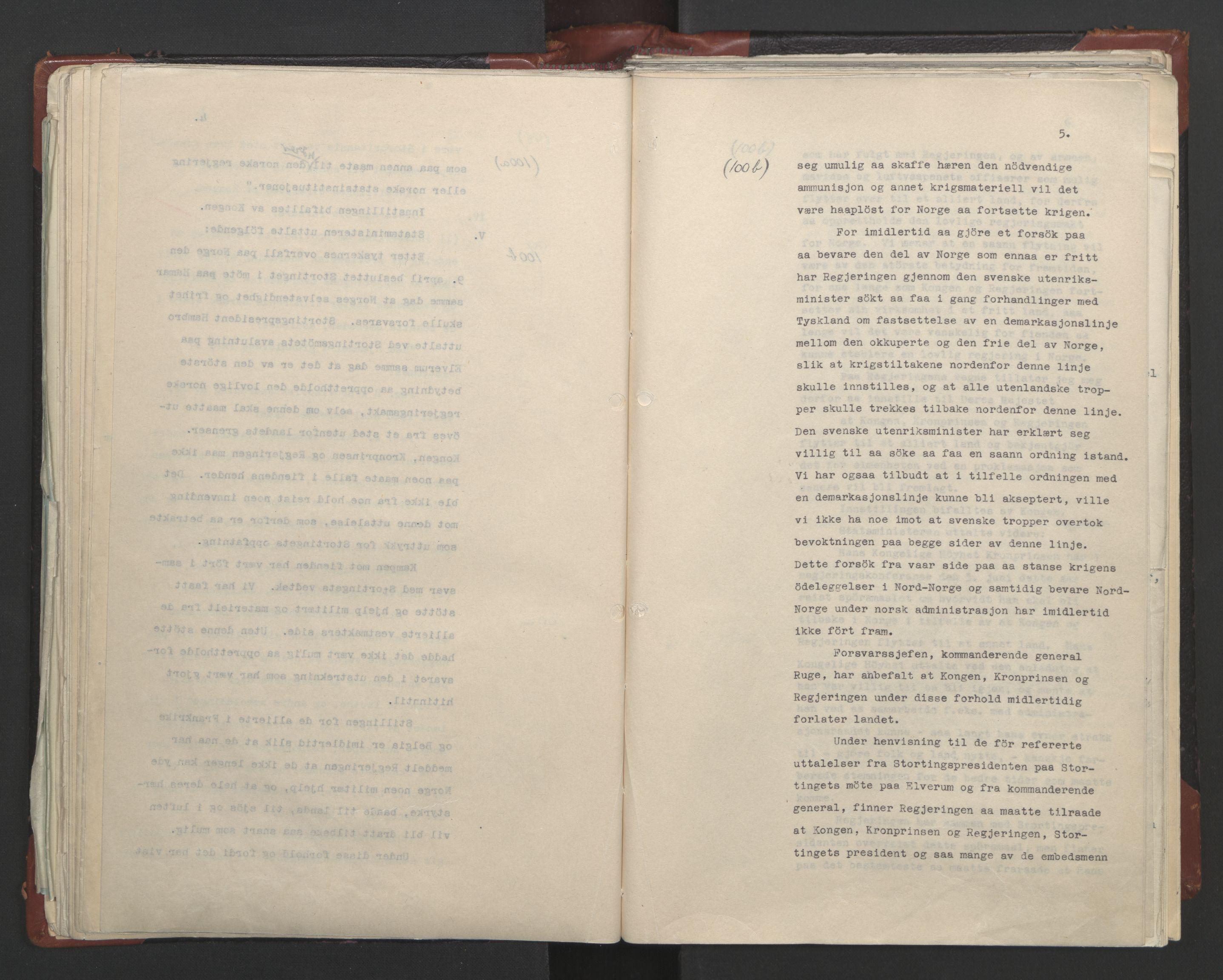 RA, Statsrådssekretariatet, A/Ac/L0122: Kgl. res. (9/4) 17/4 1940 -18/12 1942, 1940-1942, s. 89