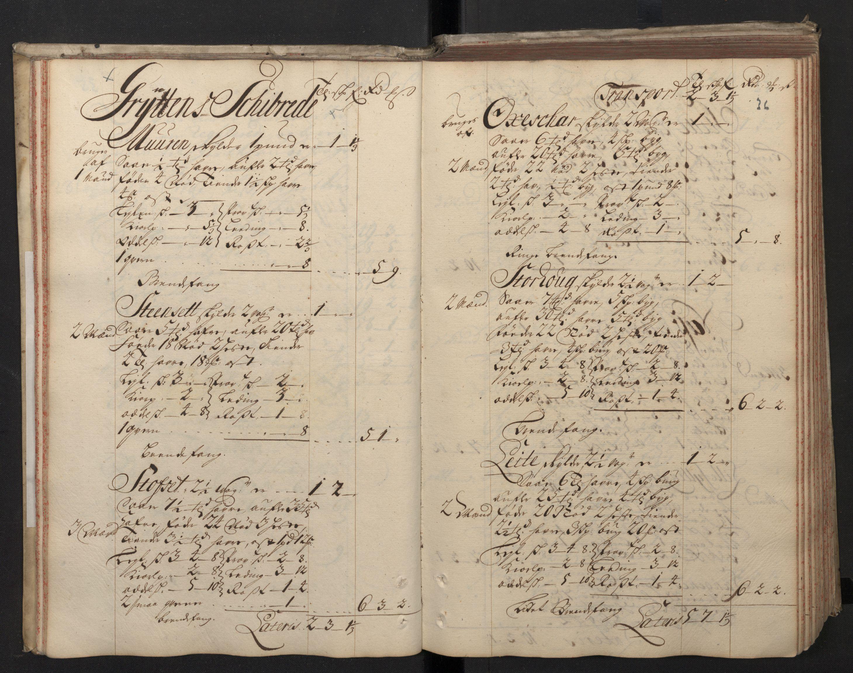 RA, Rentekammeret inntil 1814, Realistisk ordnet avdeling, N/Nb/Nbf/L0148: Sunnmøre, prøvematrikkel, 1714, s. 35b-36a