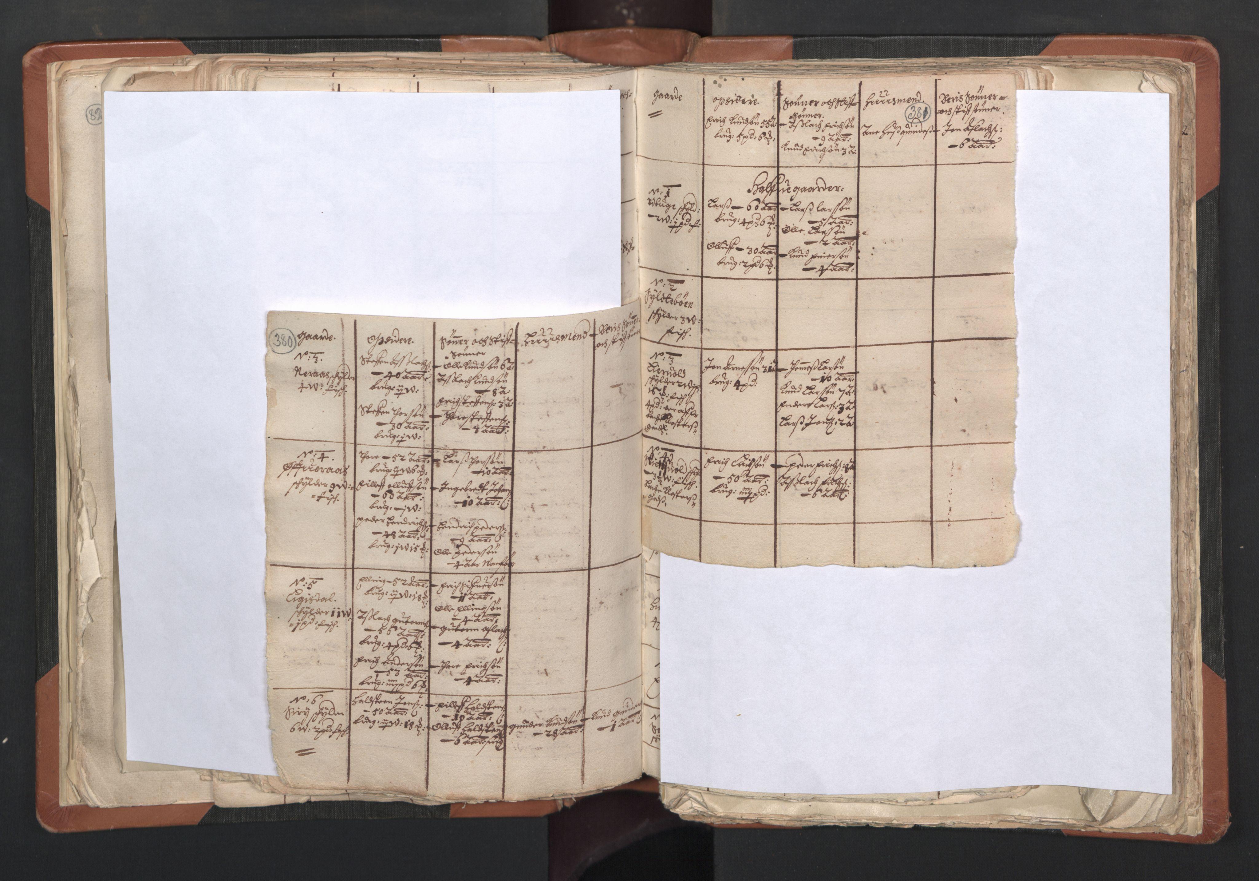 RA, Sogneprestenes manntall 1664-1666, nr. 27: Romsdal prosti, 1664-1666, s. 380-381