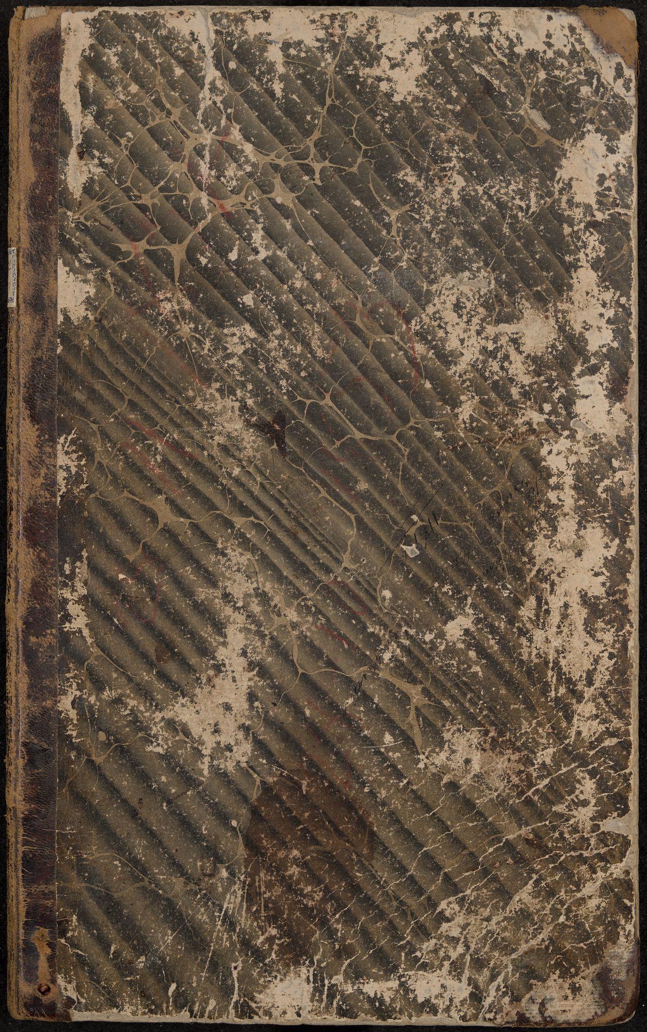 IKAK, Hedrum formannskap, Aa/L0001: Møtebok med register, 1837-1853