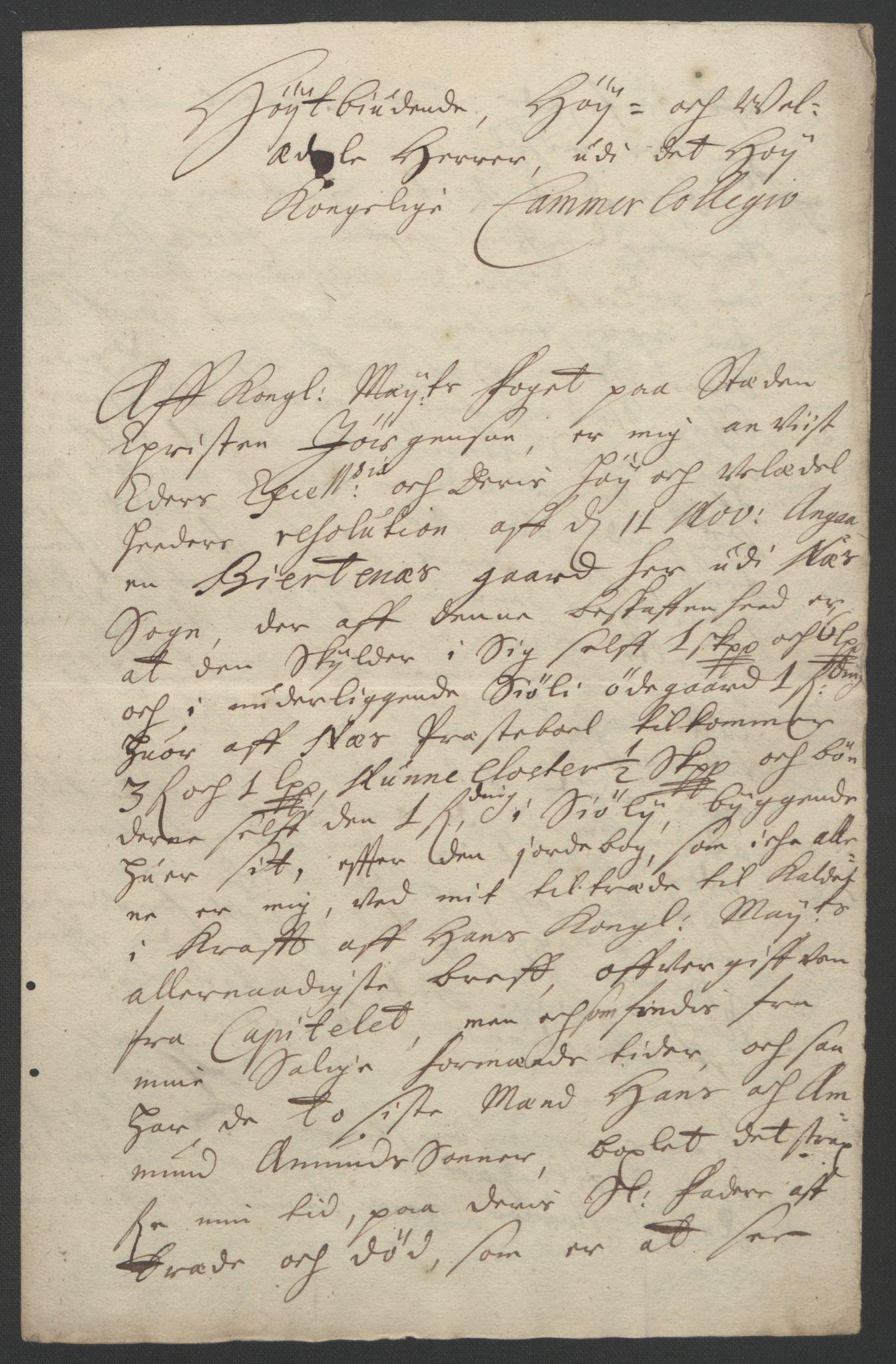 RA, Rentekammeret inntil 1814, Reviderte regnskaper, Fogderegnskap, R12/L0705: Fogderegnskap Øvre Romerike, 1693, s. 19