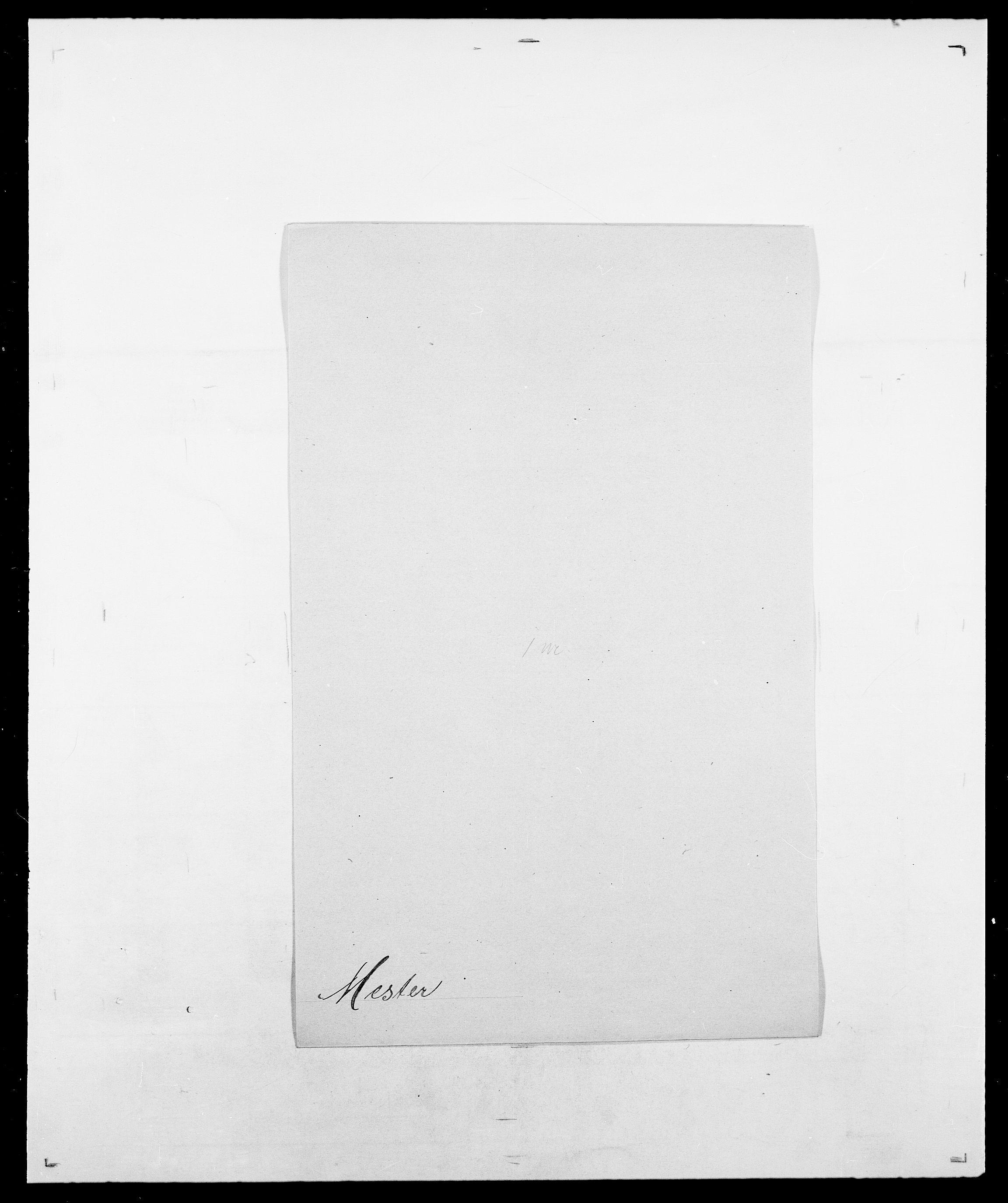 SAO, Delgobe, Charles Antoine - samling, D/Da/L0026: Mechelby - Montoppidan, s. 353