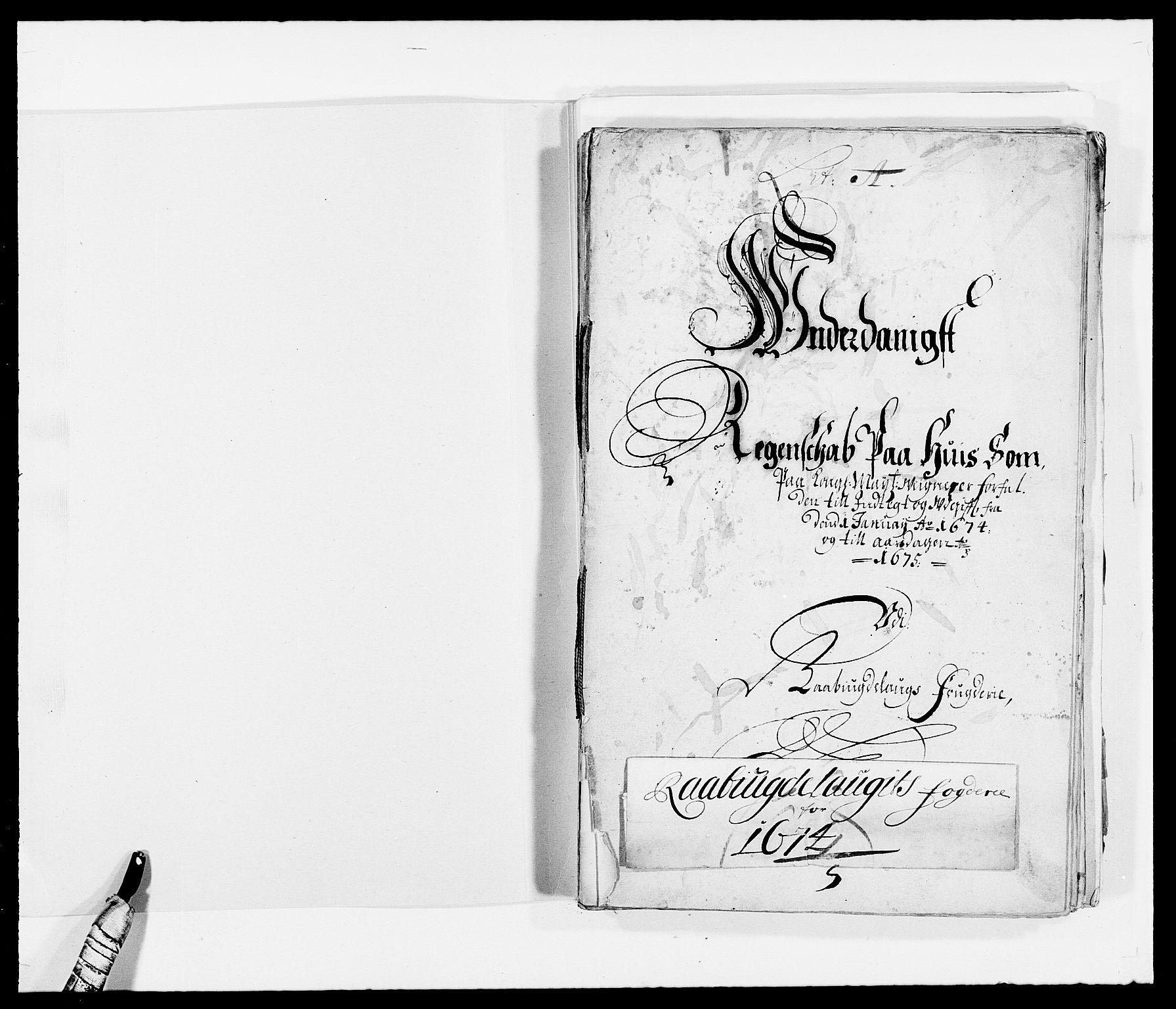 RA, Rentekammeret inntil 1814, Reviderte regnskaper, Fogderegnskap, R40/L2433: Fogderegnskap Råbyggelag, 1671-1674, s. 249