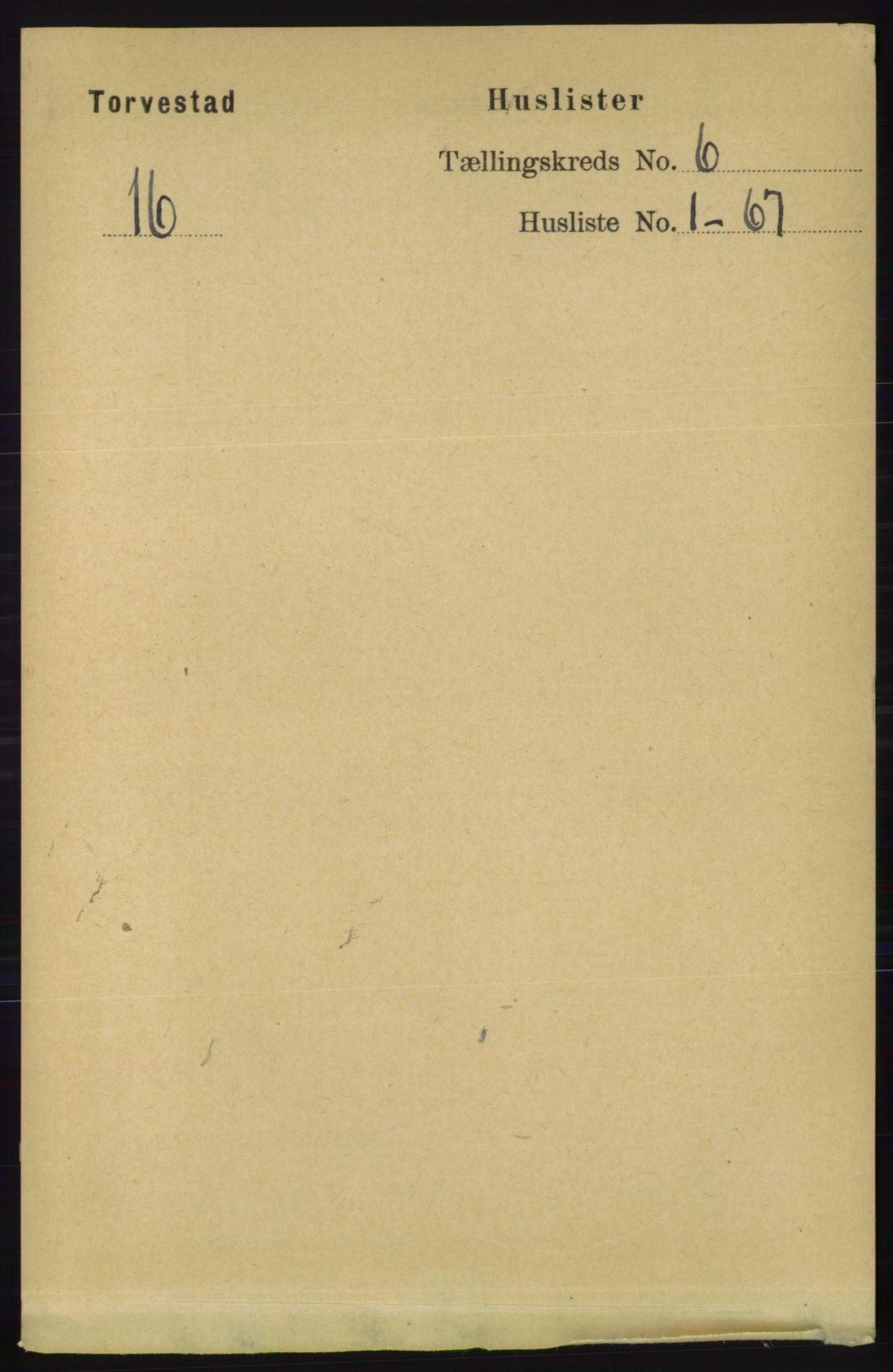 RA, Folketelling 1891 for 1152 Torvastad herred, 1891, s. 1923