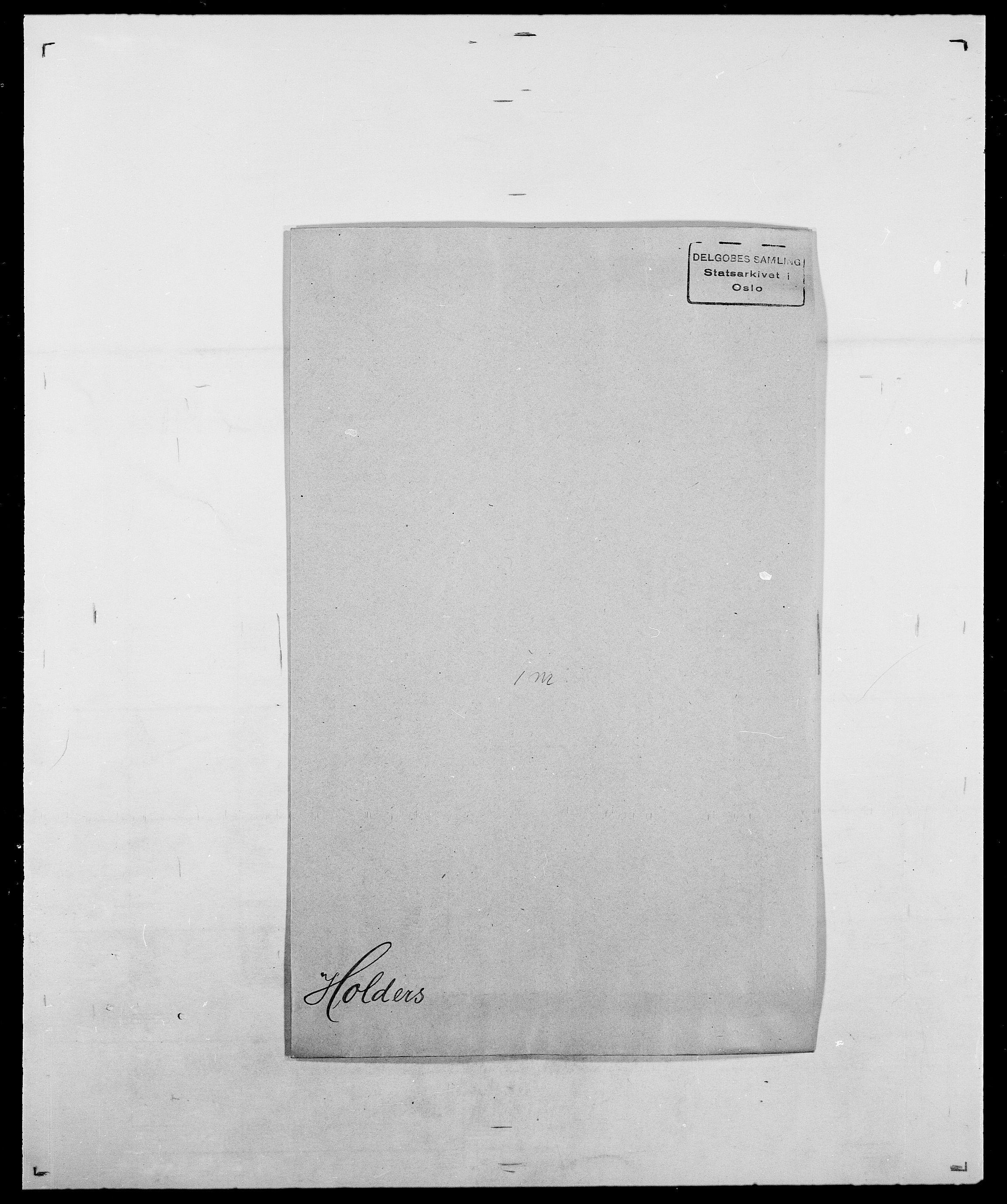 SAO, Delgobe, Charles Antoine - samling, D/Da/L0018: Hoch - Howert, s. 231