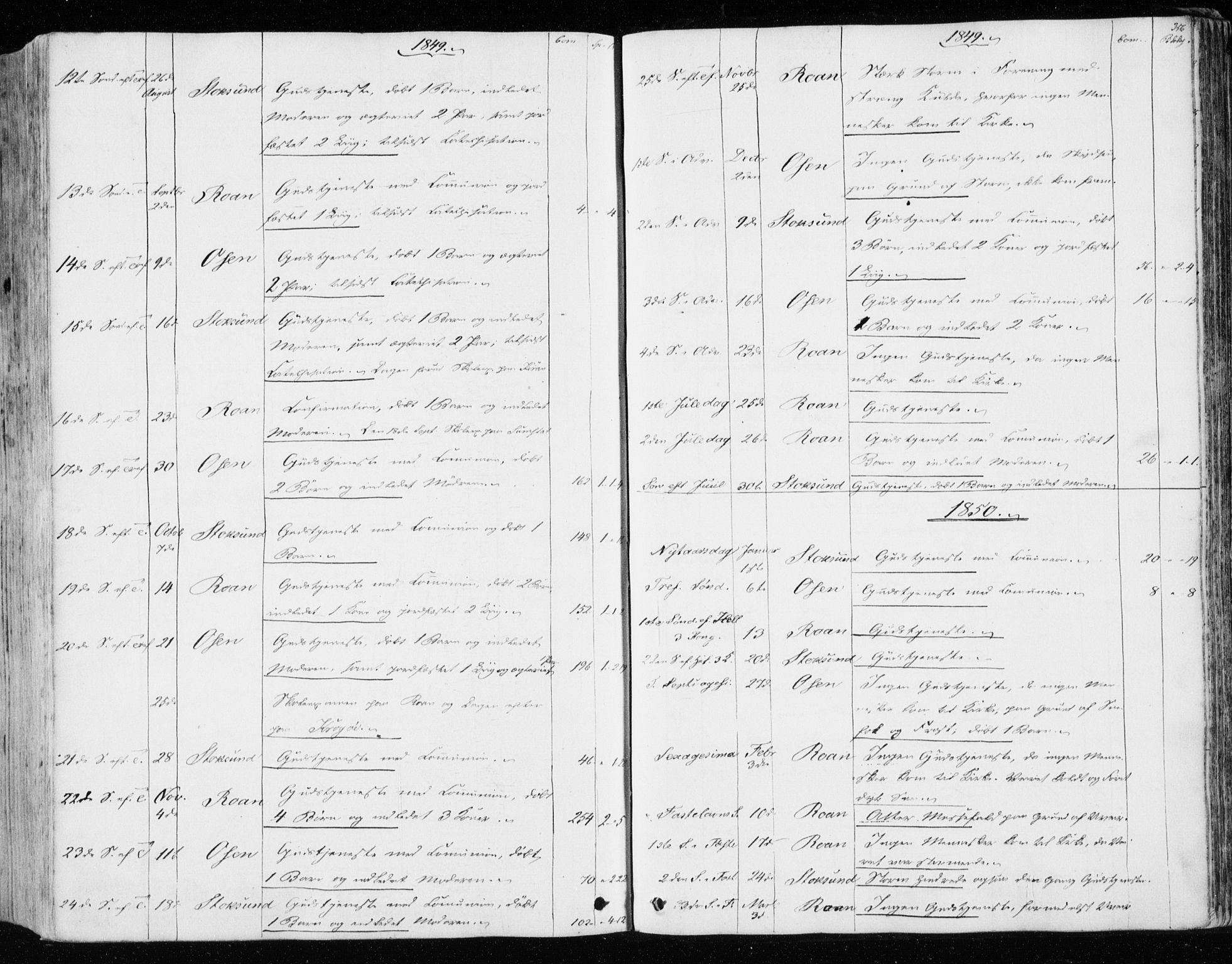 SAT, Ministerialprotokoller, klokkerbøker og fødselsregistre - Sør-Trøndelag, 657/L0704: Ministerialbok nr. 657A05, 1846-1857, s. 356