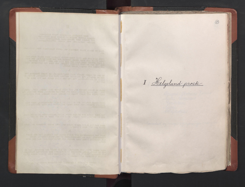 RA, Sogneprestenes manntall 1664-1666, nr. 35: Helgeland prosti og Salten prosti, 1664-1666, s. 1