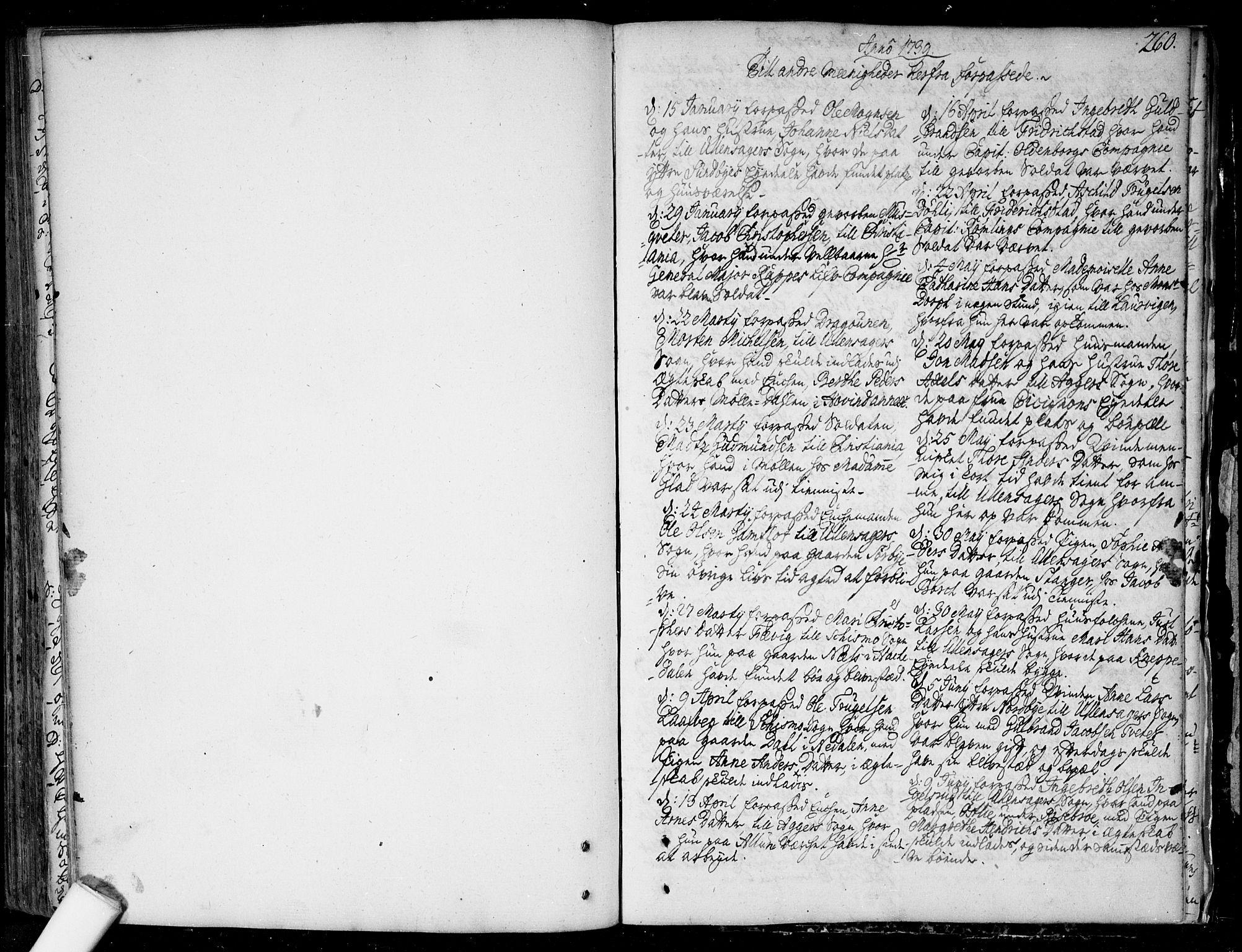 SAO, Nannestad prestekontor Kirkebøker, F/Fa/L0006: Ministerialbok nr. I 6, 1739-1754, s. 260