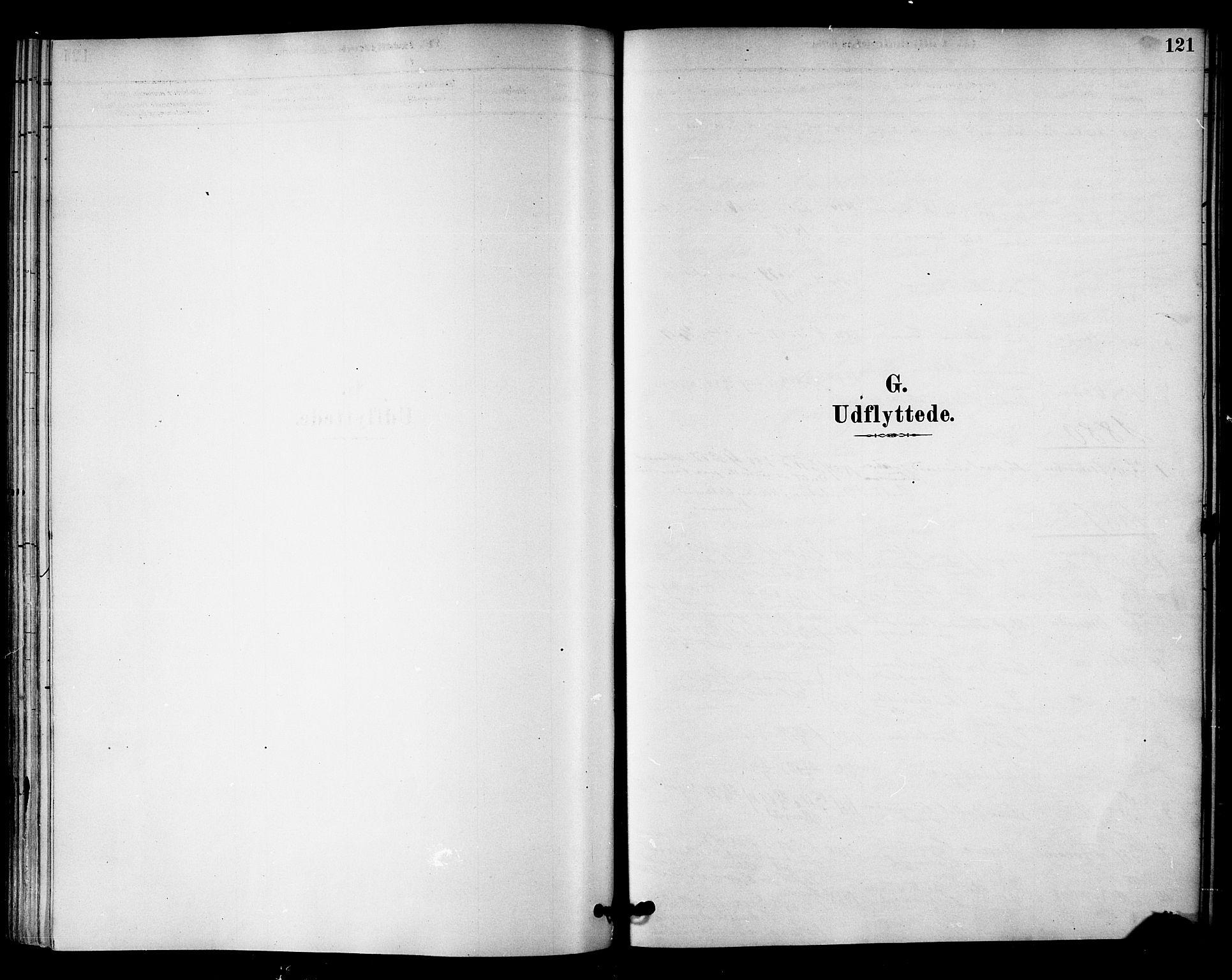 SAT, Ministerialprotokoller, klokkerbøker og fødselsregistre - Nord-Trøndelag, 745/L0429: Ministerialbok nr. 745A01, 1878-1894, s. 121