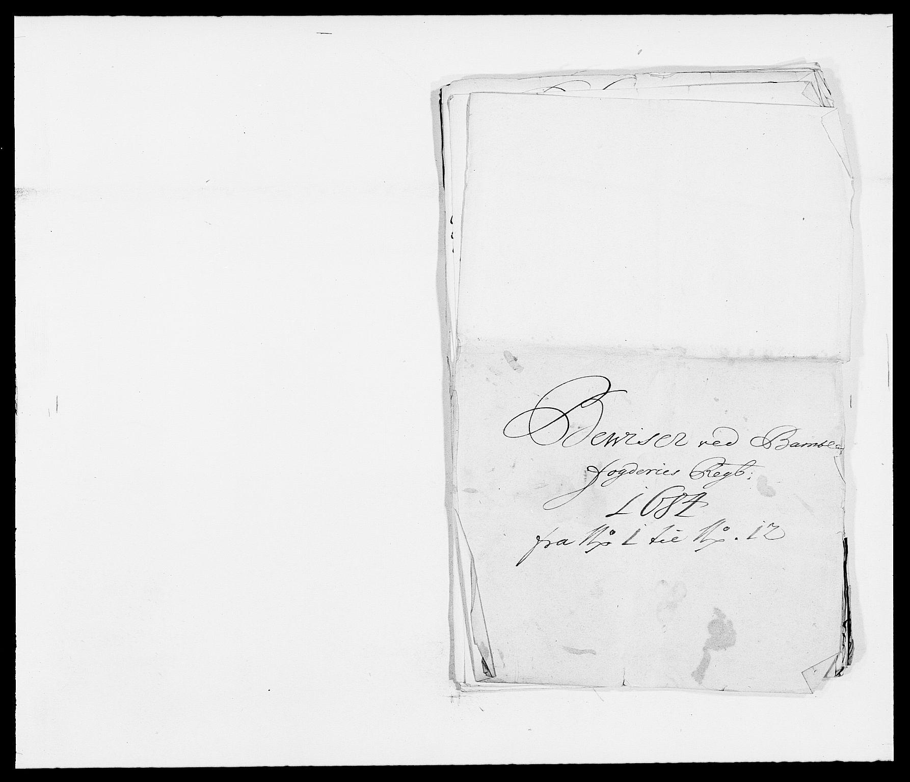 RA, Rentekammeret inntil 1814, Reviderte regnskaper, Fogderegnskap, R34/L2047: Fogderegnskap Bamble, 1684, s. 156