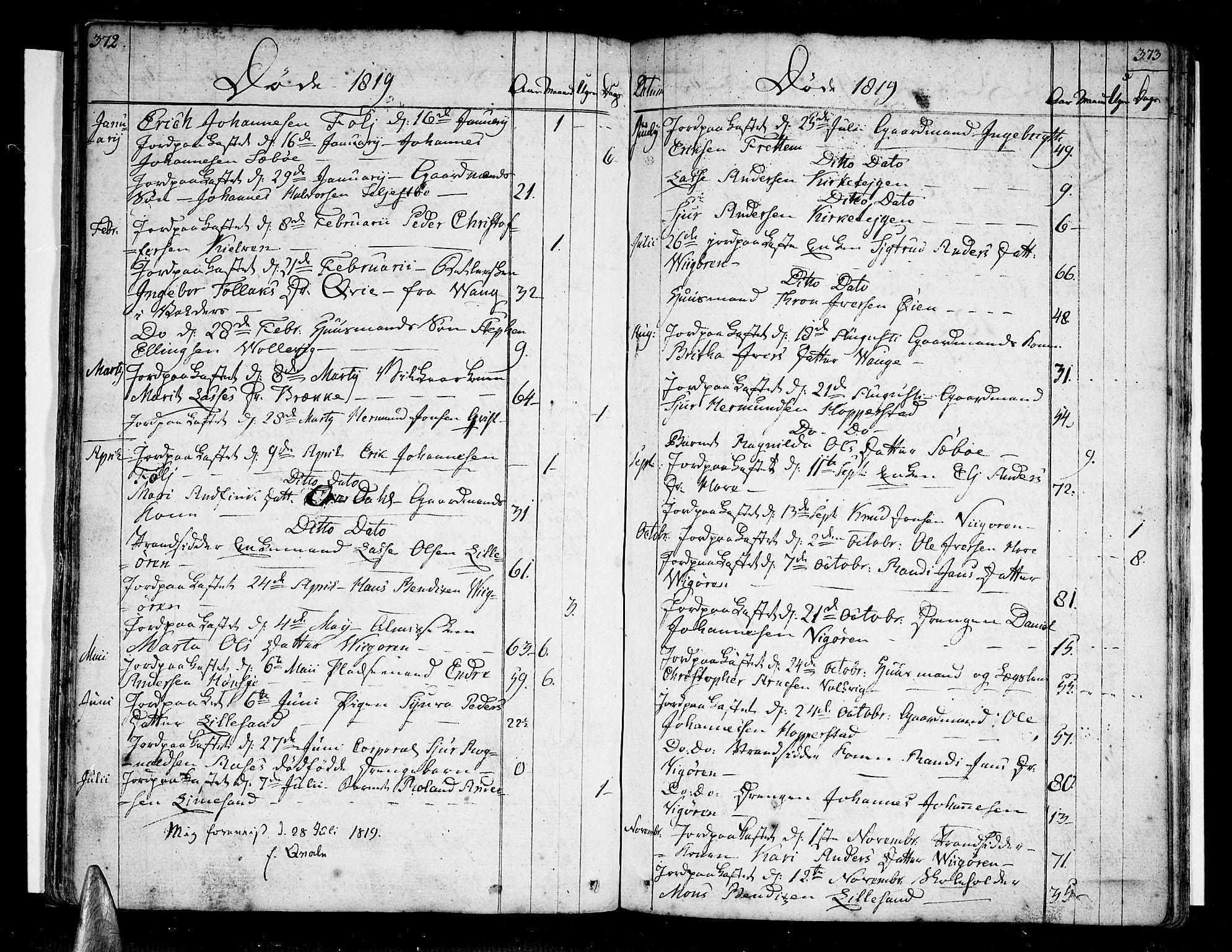 SAB, Vik Sokneprestembete, Ministerialbok nr. A 5, 1787-1820, s. 372-373