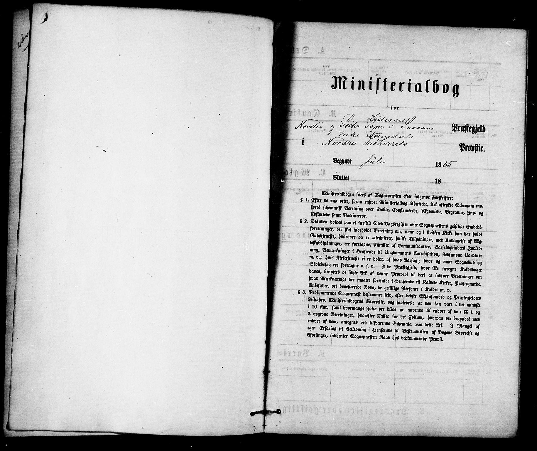 SAT, Ministerialprotokoller, klokkerbøker og fødselsregistre - Nord-Trøndelag, 755/L0493: Ministerialbok nr. 755A02, 1865-1881
