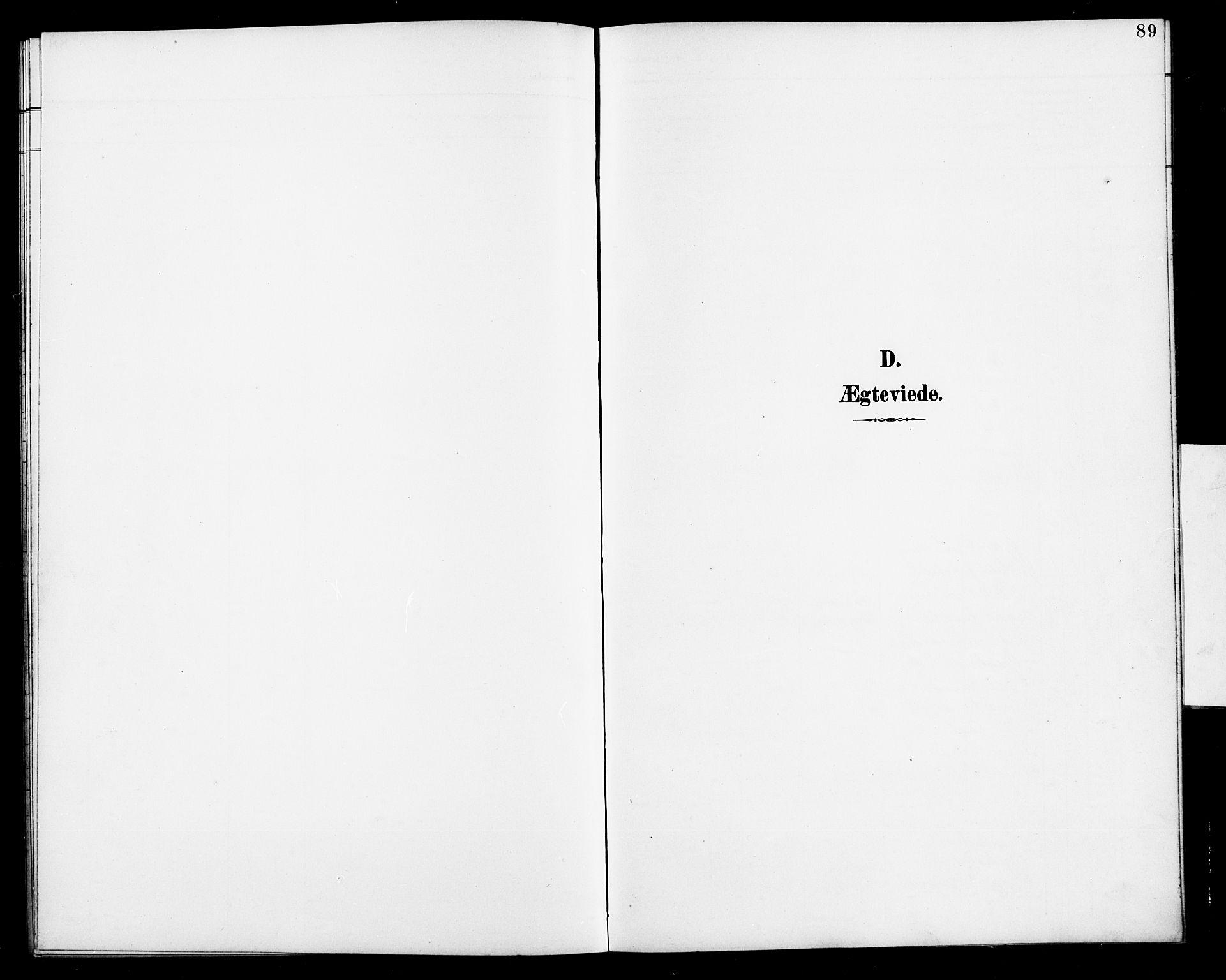SAK, Herefoss sokneprestkontor, F/Fb/Fbb/L0003: Klokkerbok nr. B 3, 1892-1917, s. 89