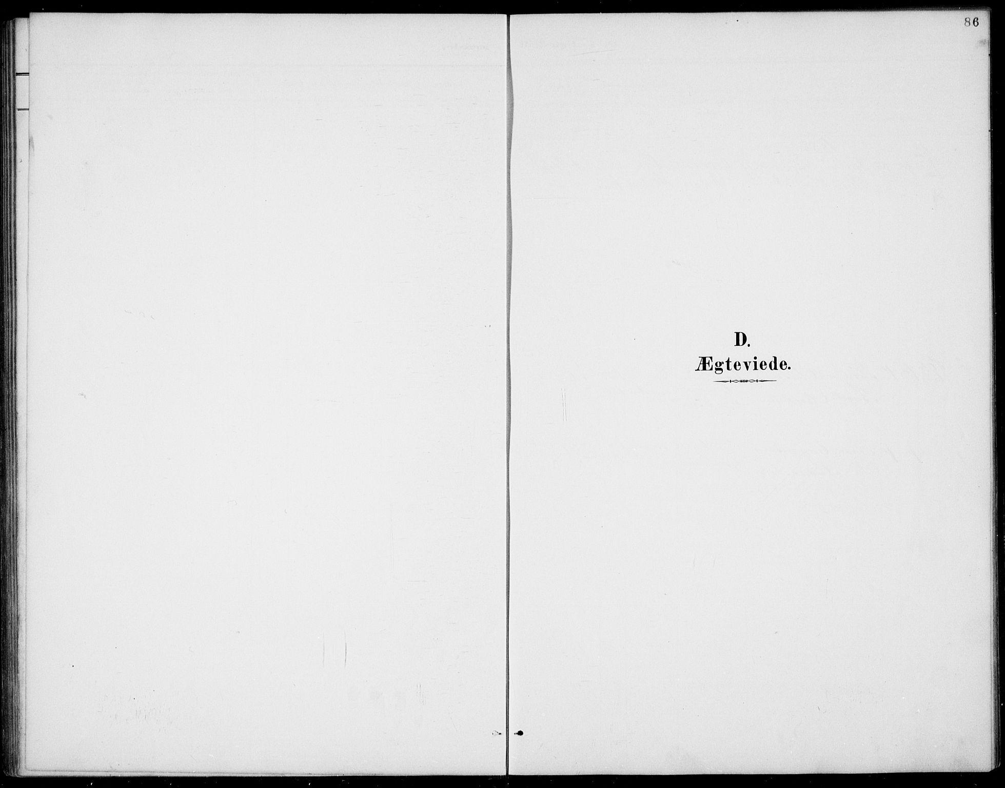 SAKO, Rauland kirkebøker, G/Gb/L0002: Klokkerbok nr. II 2, 1887-1937, s. 86