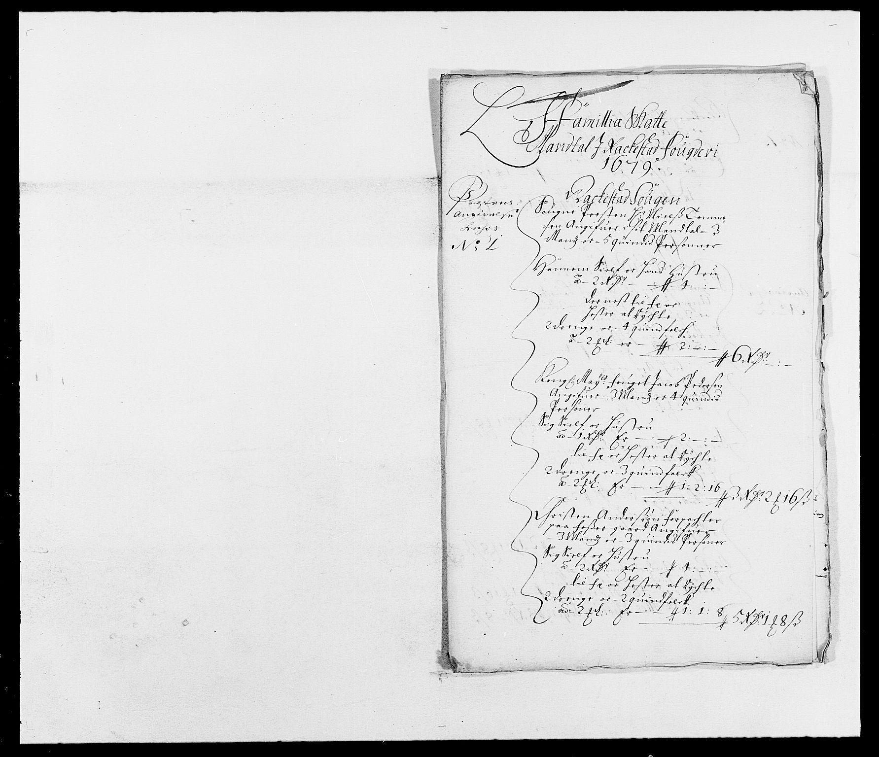 RA, Rentekammeret inntil 1814, Reviderte regnskaper, Fogderegnskap, R05/L0271: Fogderegnskap Rakkestad, 1678-1679, s. 445