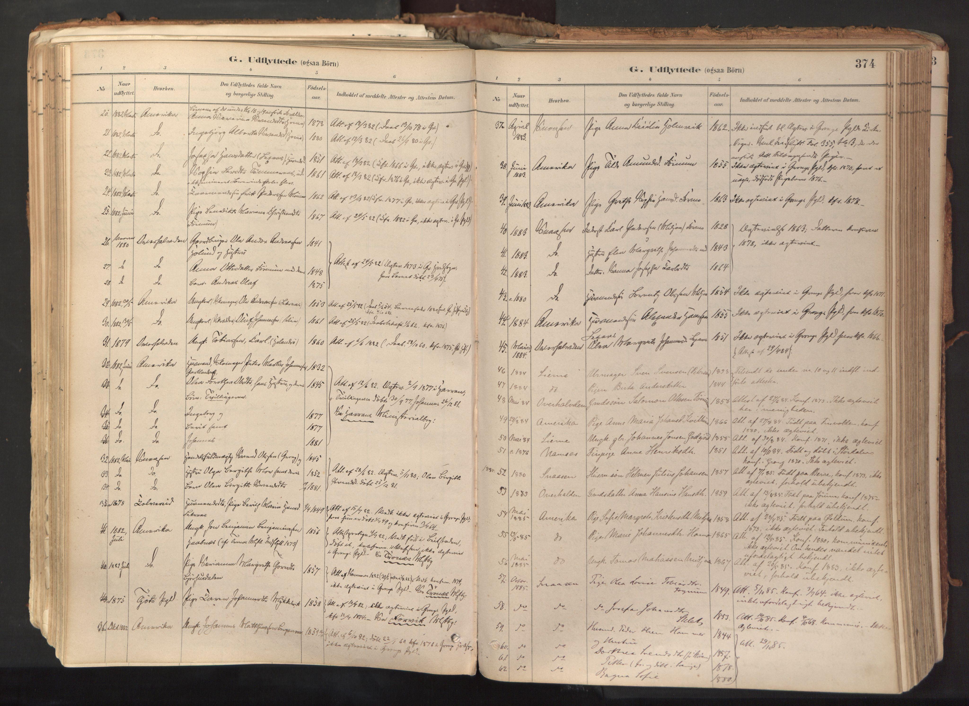 SAT, Ministerialprotokoller, klokkerbøker og fødselsregistre - Nord-Trøndelag, 758/L0519: Ministerialbok nr. 758A04, 1880-1926, s. 374