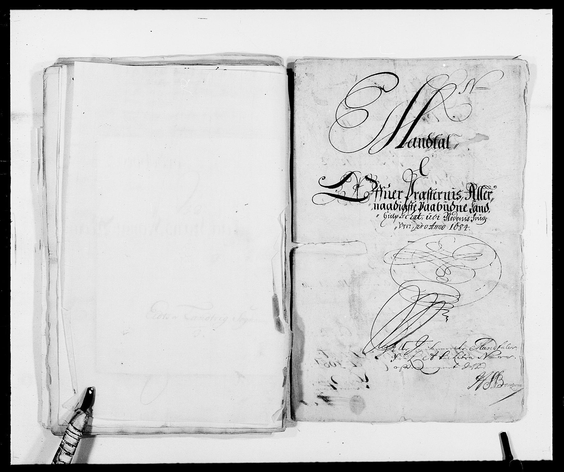 RA, Rentekammeret inntil 1814, Reviderte regnskaper, Fogderegnskap, R39/L2308: Fogderegnskap Nedenes, 1684-1689, s. 181