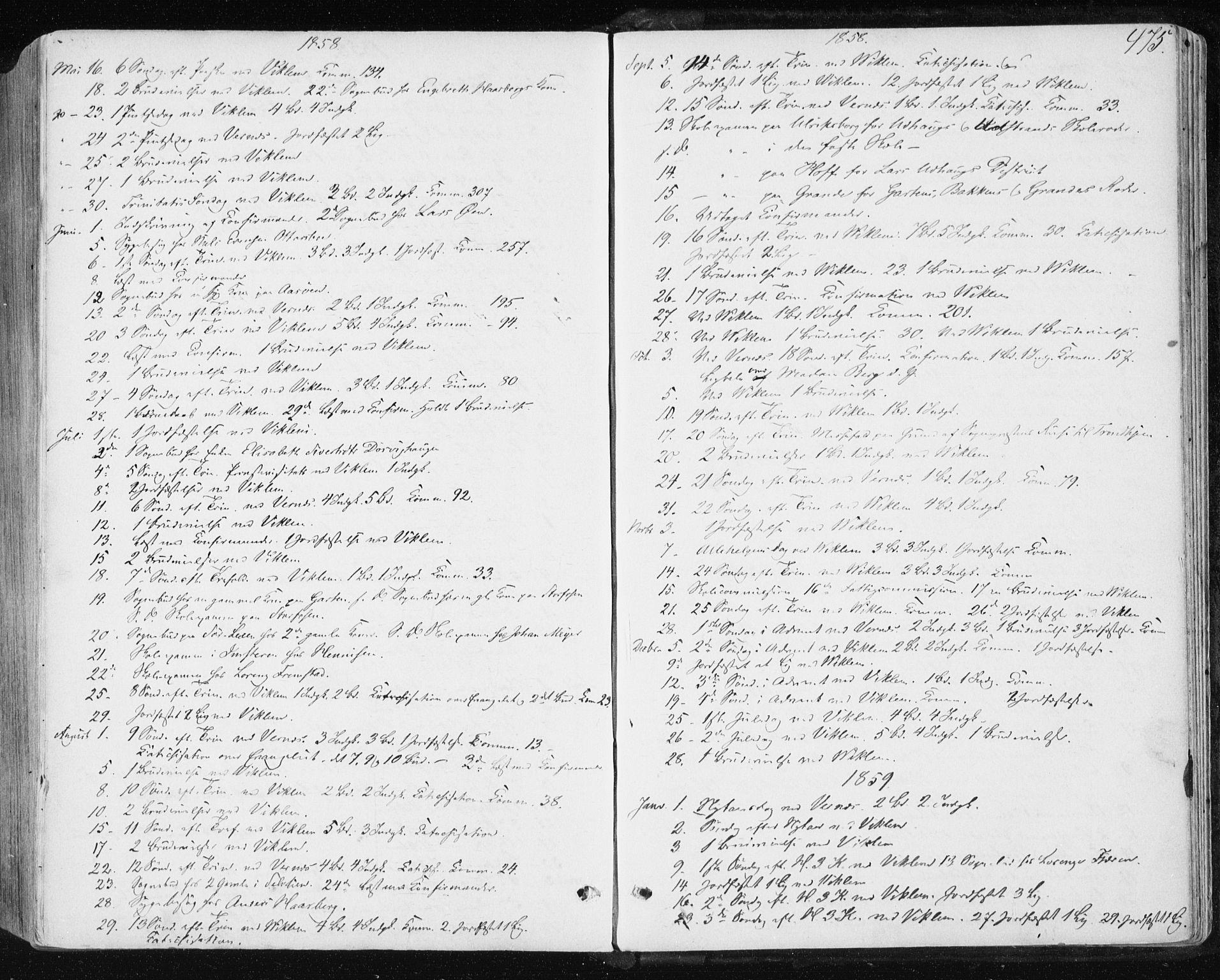 SAT, Ministerialprotokoller, klokkerbøker og fødselsregistre - Sør-Trøndelag, 659/L0737: Ministerialbok nr. 659A07, 1857-1875, s. 475