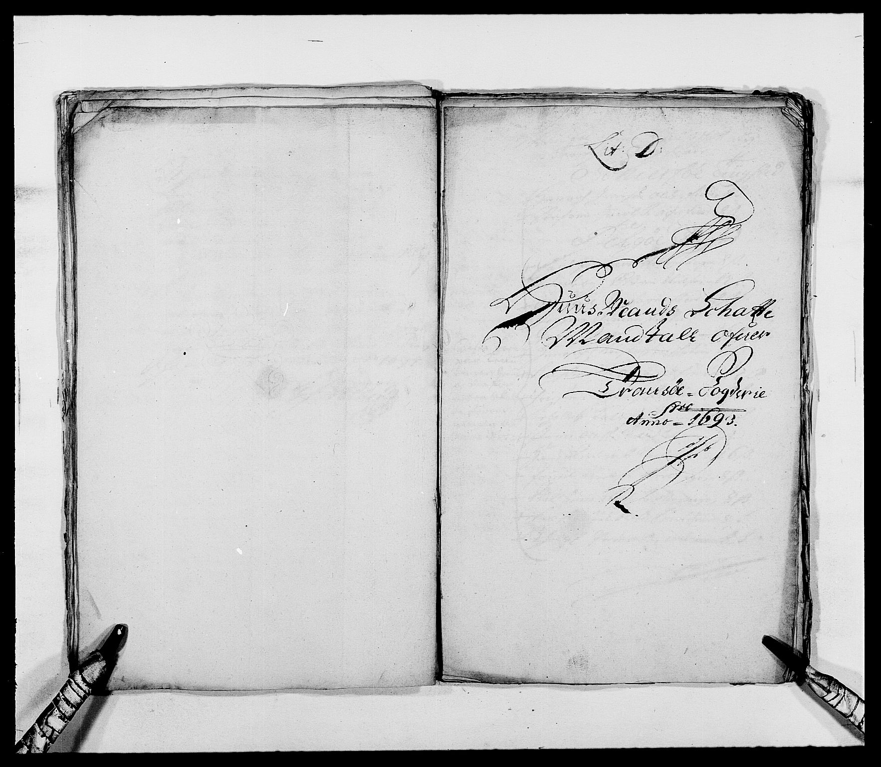 RA, Rentekammeret inntil 1814, Reviderte regnskaper, Fogderegnskap, R68/L4751: Fogderegnskap Senja og Troms, 1690-1693, s. 312