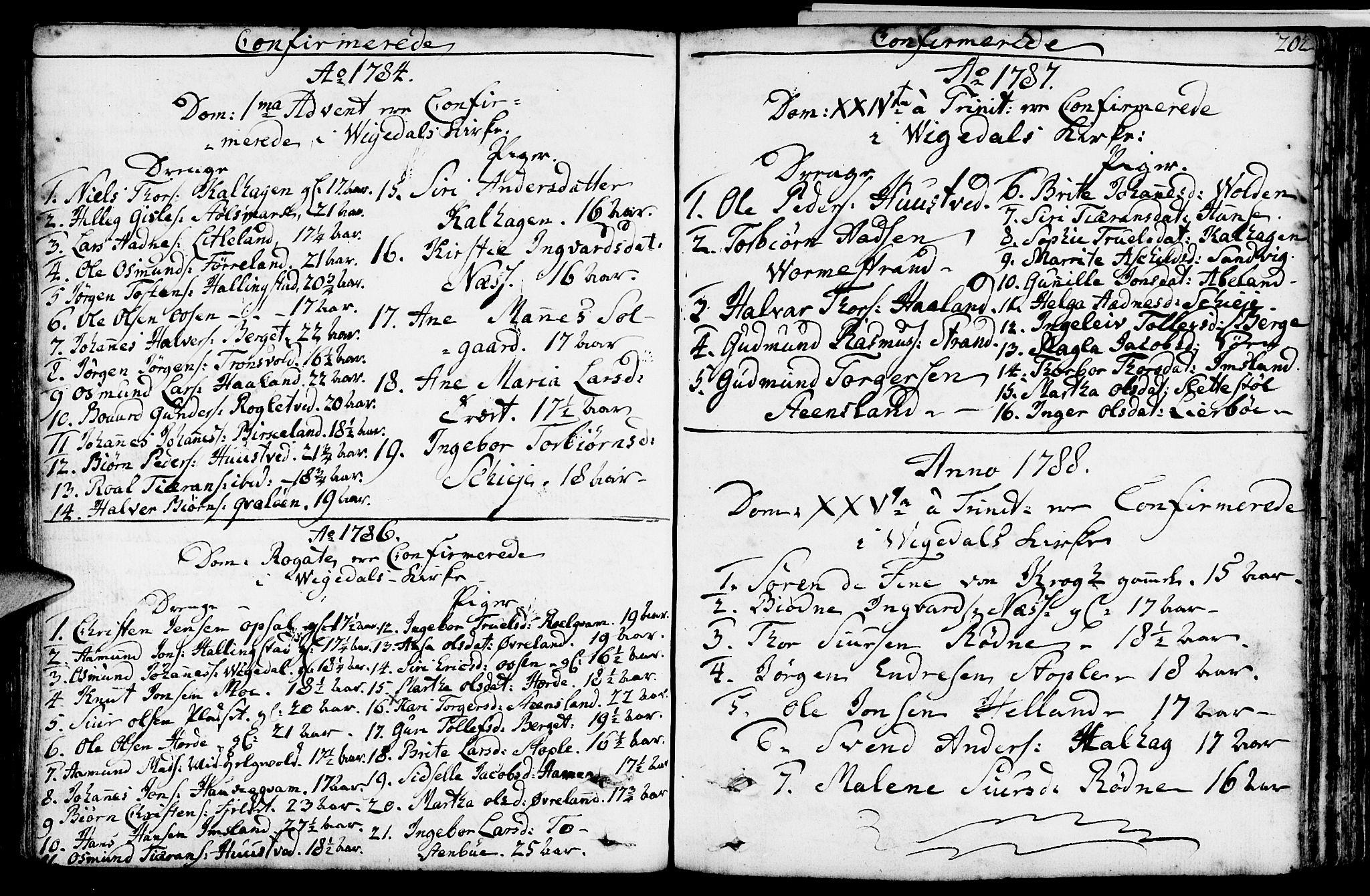 SAST, Vikedal sokneprestkontor, IV: Ministerialbok nr. A 2, 1779-1817, s. 202