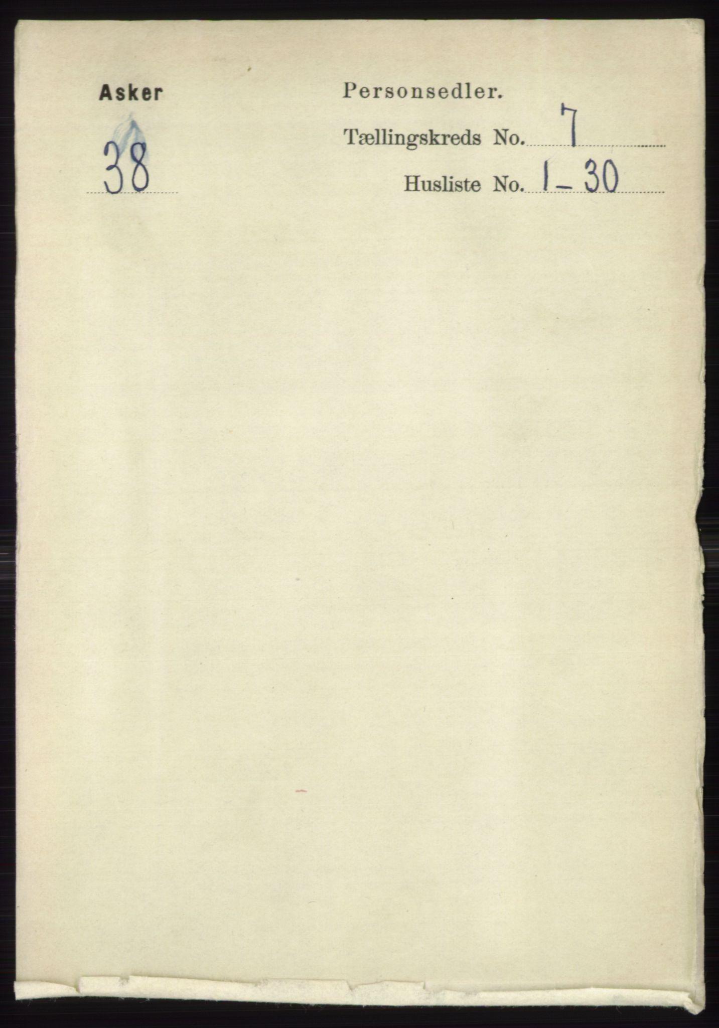 RA, Folketelling 1891 for 0220 Asker herred, 1891, s. 4548
