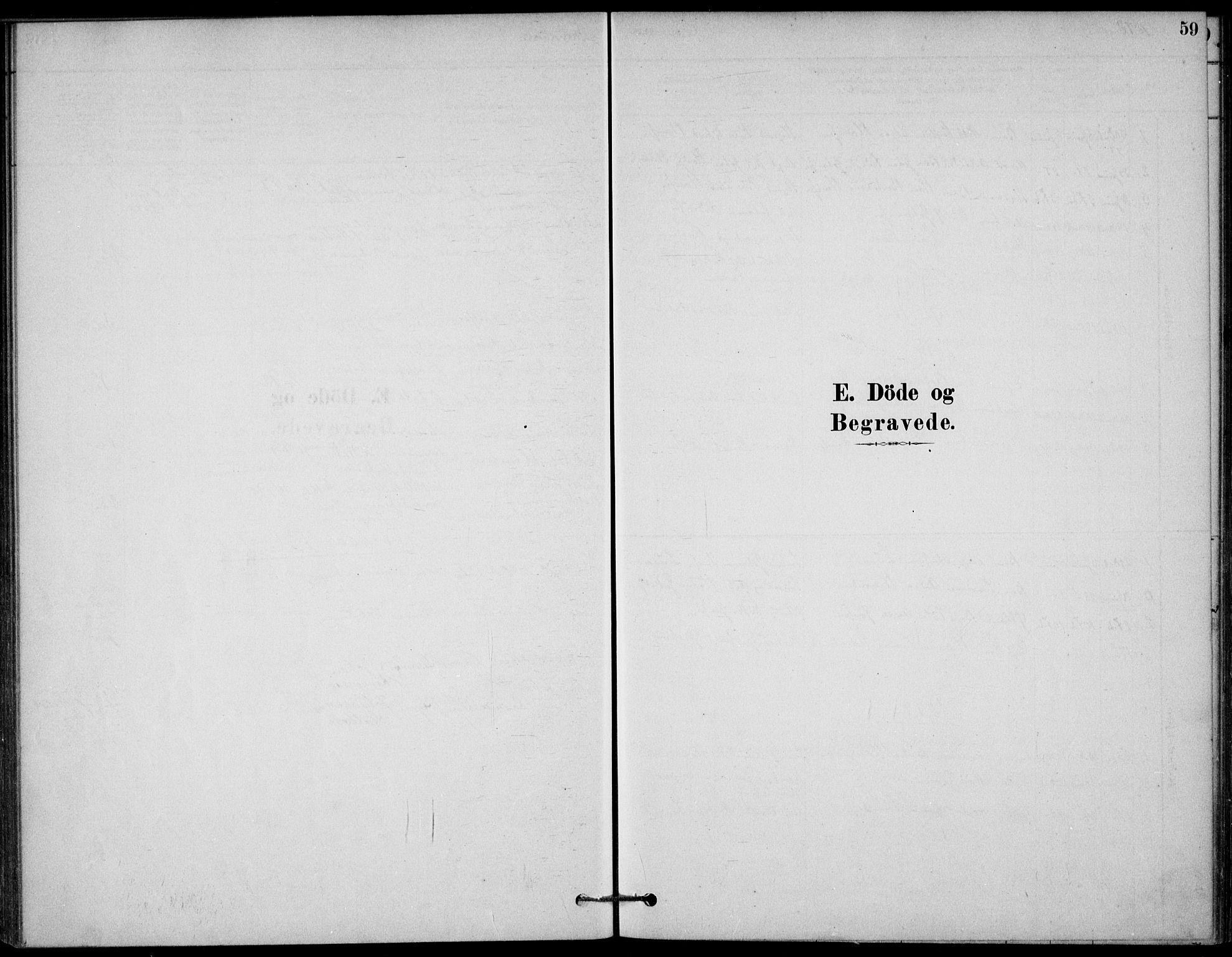 SAKO, Bamble kirkebøker, G/Gb/L0001: Klokkerbok nr. II 1, 1878-1900, s. 59