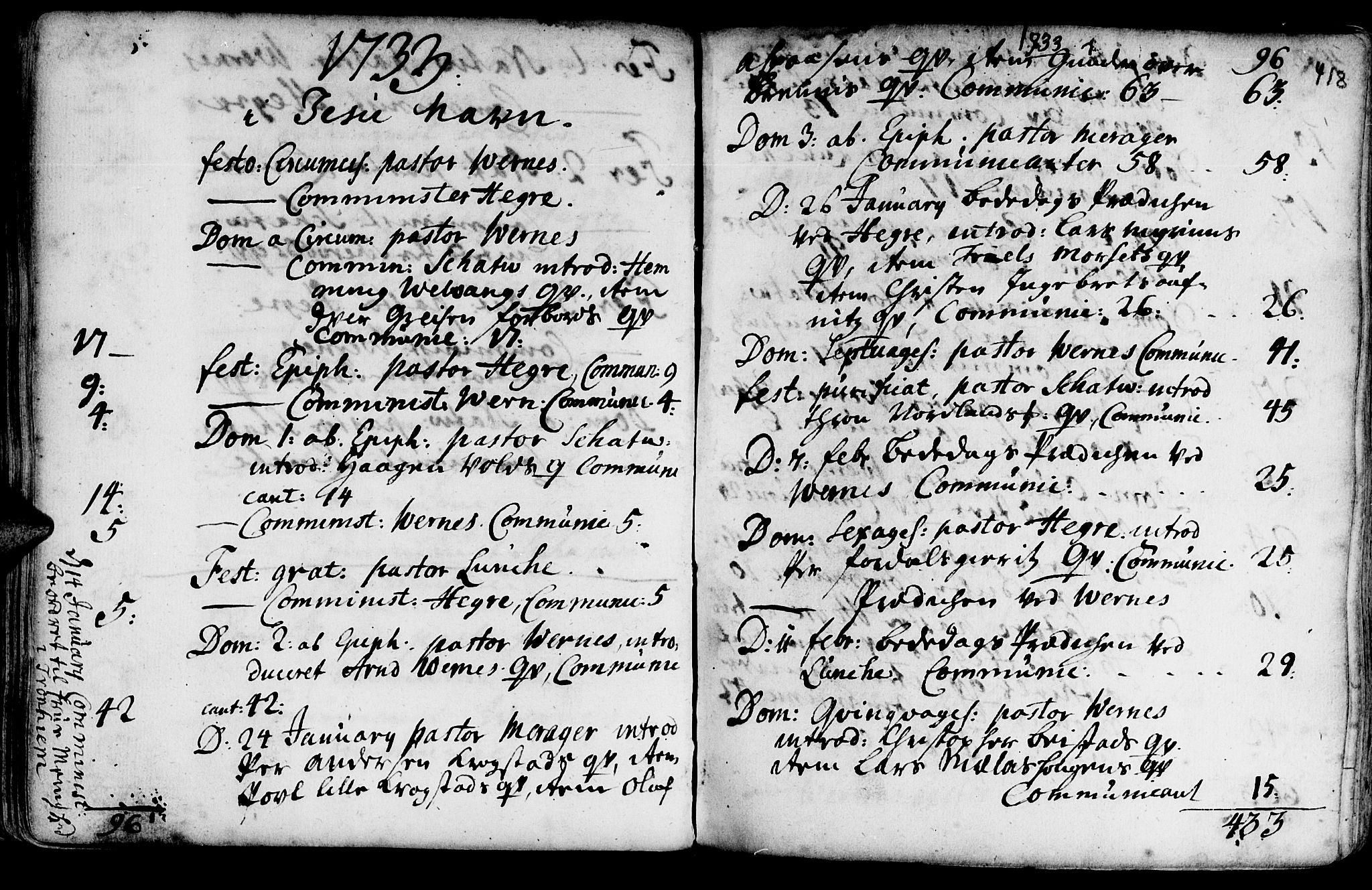 SAT, Ministerialprotokoller, klokkerbøker og fødselsregistre - Nord-Trøndelag, 709/L0054: Ministerialbok nr. 709A02, 1714-1738, s. 417-418