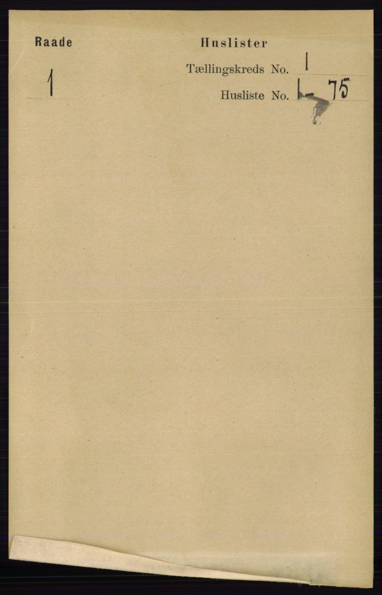 RA, Folketelling 1891 for 0135 Råde herred, 1891, s. 18