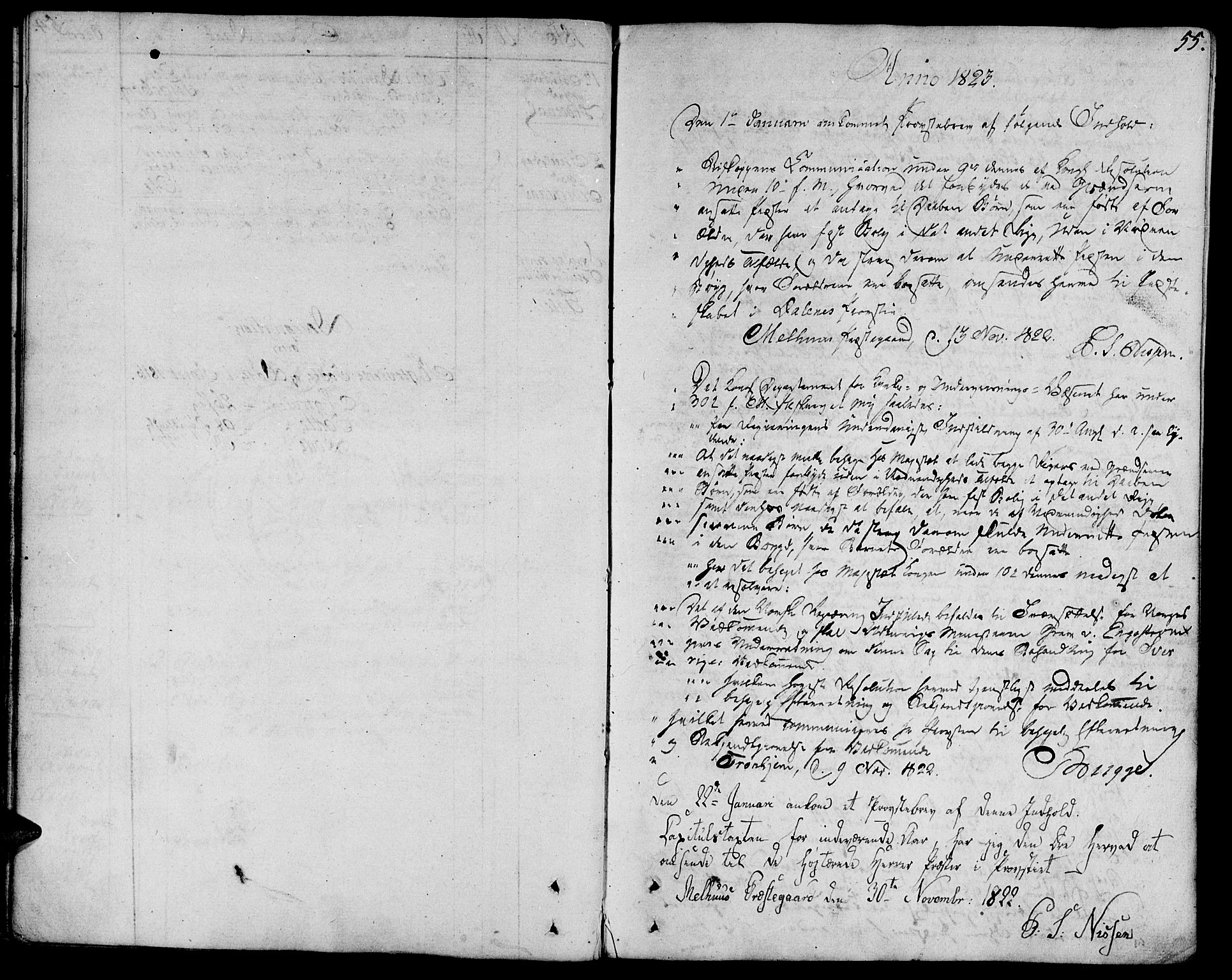 SAT, Ministerialprotokoller, klokkerbøker og fødselsregistre - Sør-Trøndelag, 685/L0953: Ministerialbok nr. 685A02, 1805-1816, s. 55