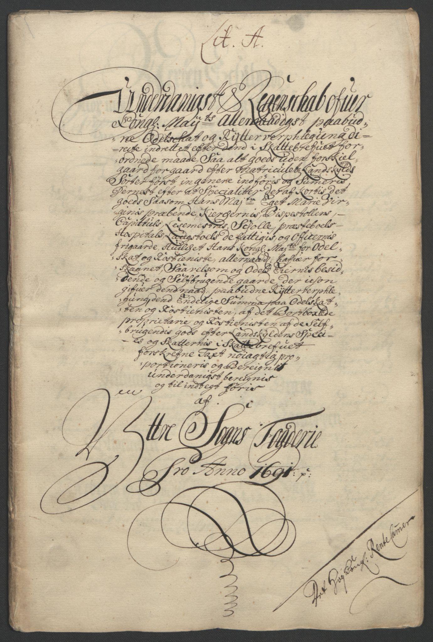 RA, Rentekammeret inntil 1814, Reviderte regnskaper, Fogderegnskap, R52/L3306: Fogderegnskap Sogn, 1691-1692, s. 47
