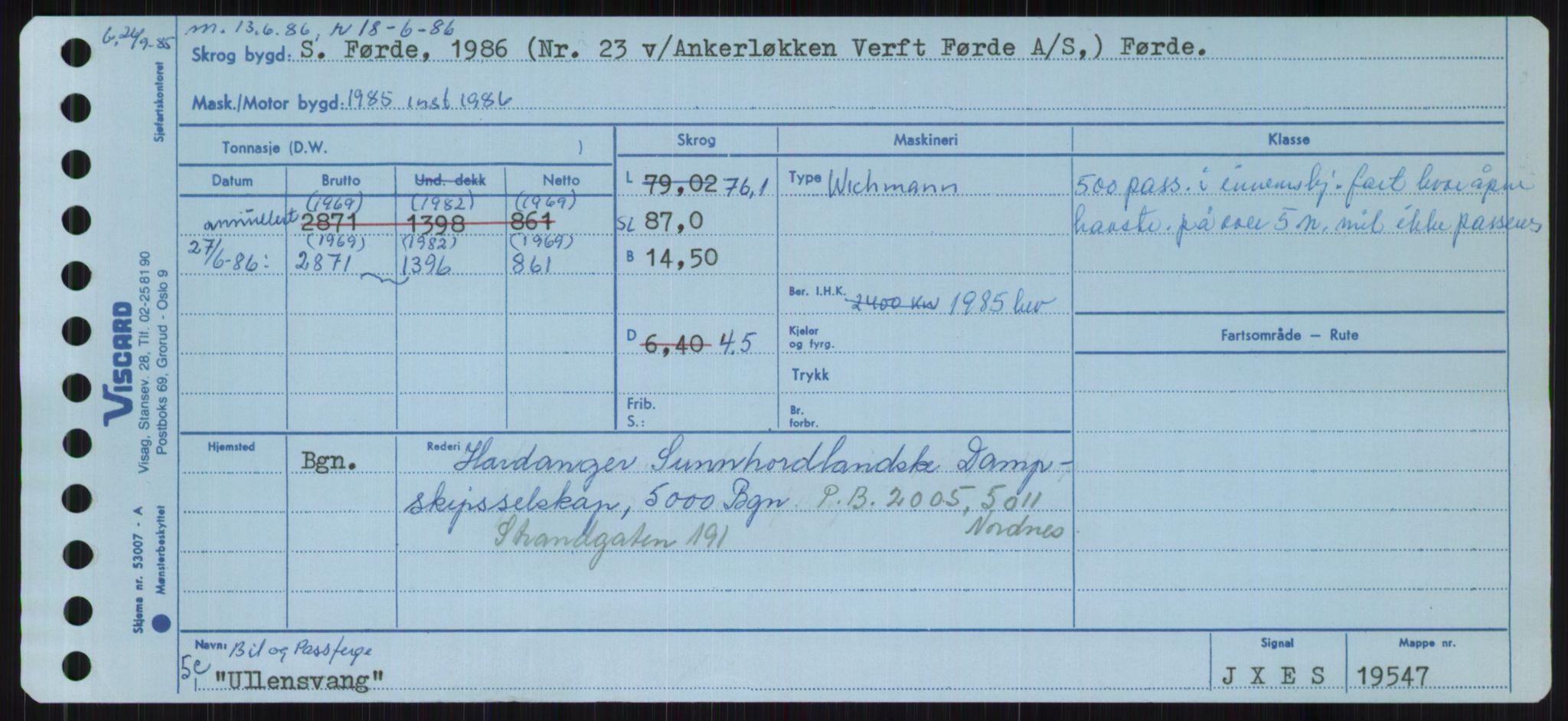 RA, Sjøfartsdirektoratet med forløpere, Skipsmålingen, H/Ha/L0006: Fartøy, Sver-Å, s. 15