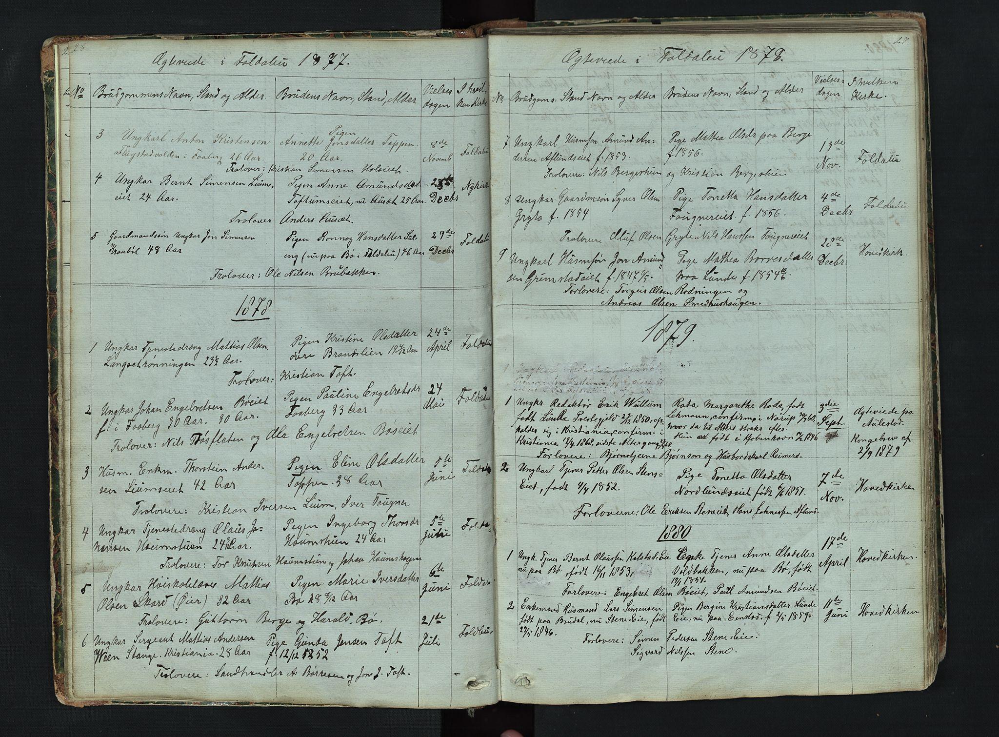 SAH, Gausdal prestekontor, Klokkerbok nr. 6, 1846-1893, s. 26-27