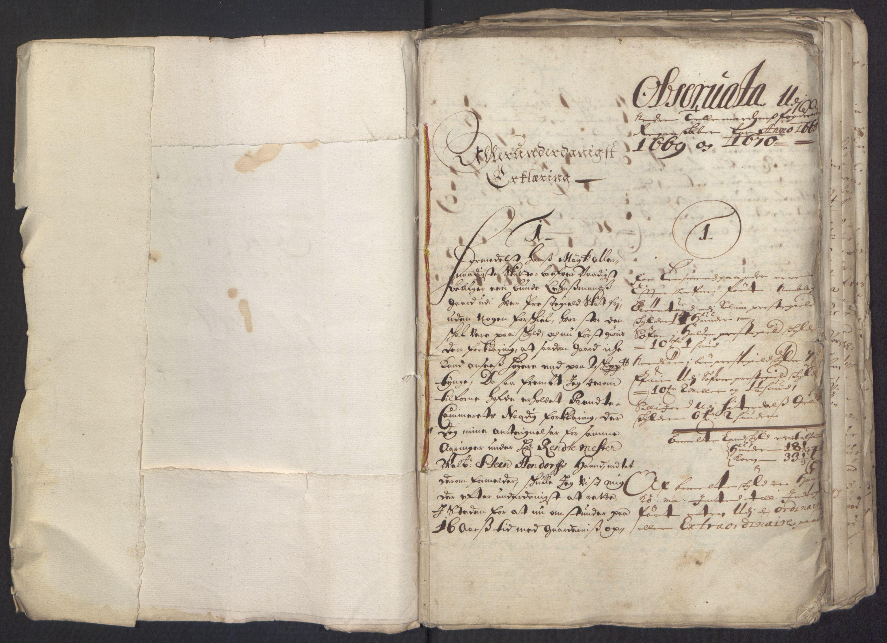 RA, Rentekammeret inntil 1814, Reviderte regnskaper, Fogderegnskap, R35/L2062: Fogderegnskap Øvre og Nedre Telemark, 1674, s. 4