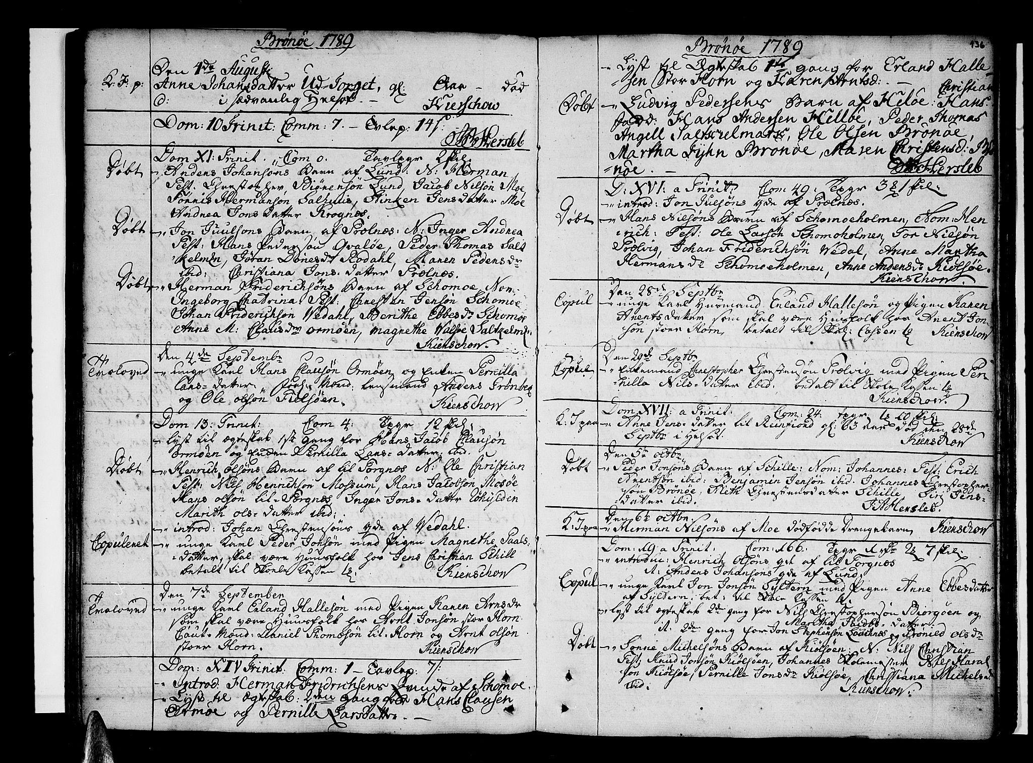 SAT, Ministerialprotokoller, klokkerbøker og fødselsregistre - Nordland, 813/L0195: Ministerialbok nr. 813A05, 1752-1803, s. 136