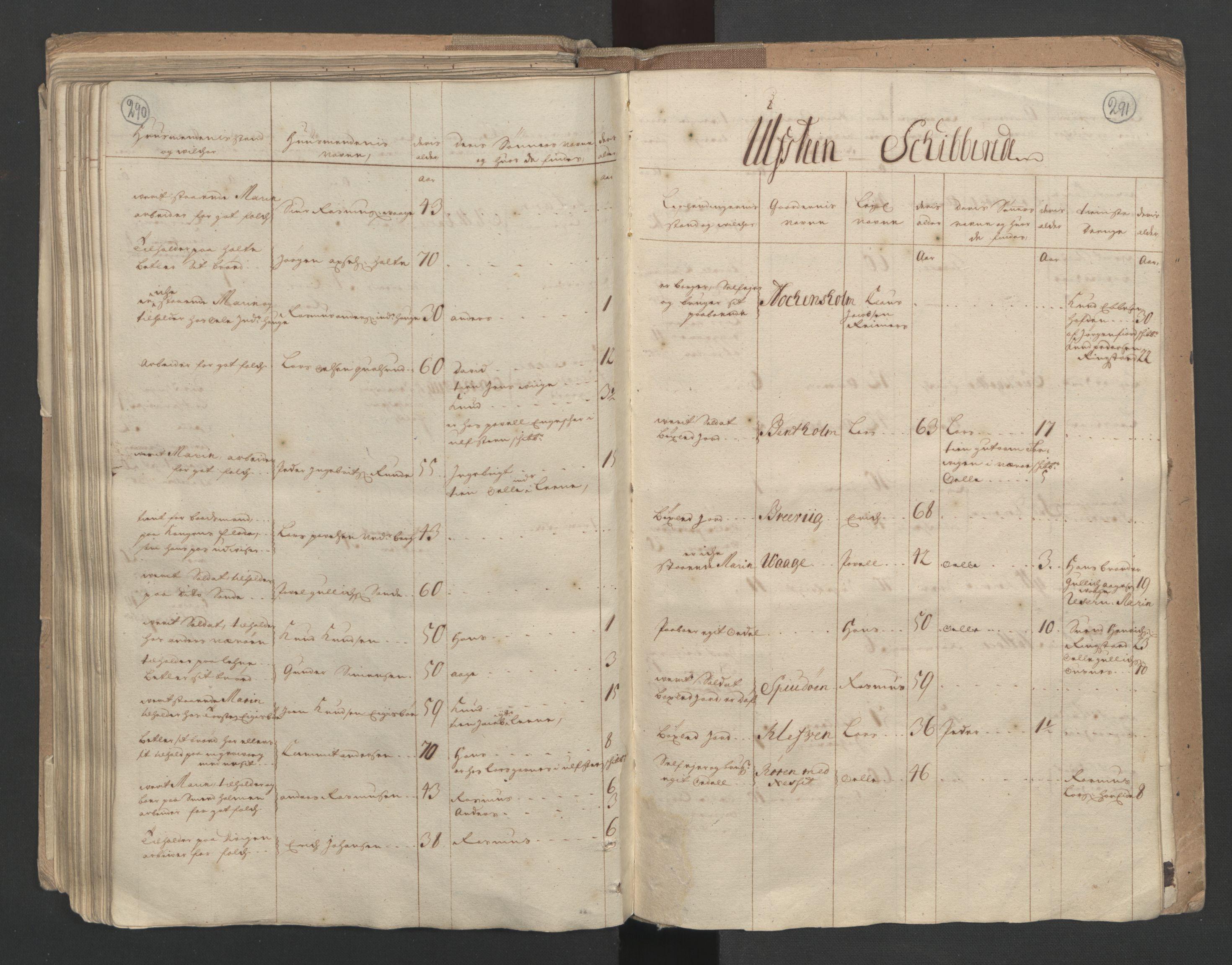 RA, Manntallet 1701, nr. 10: Sunnmøre fogderi, 1701, s. 290-291