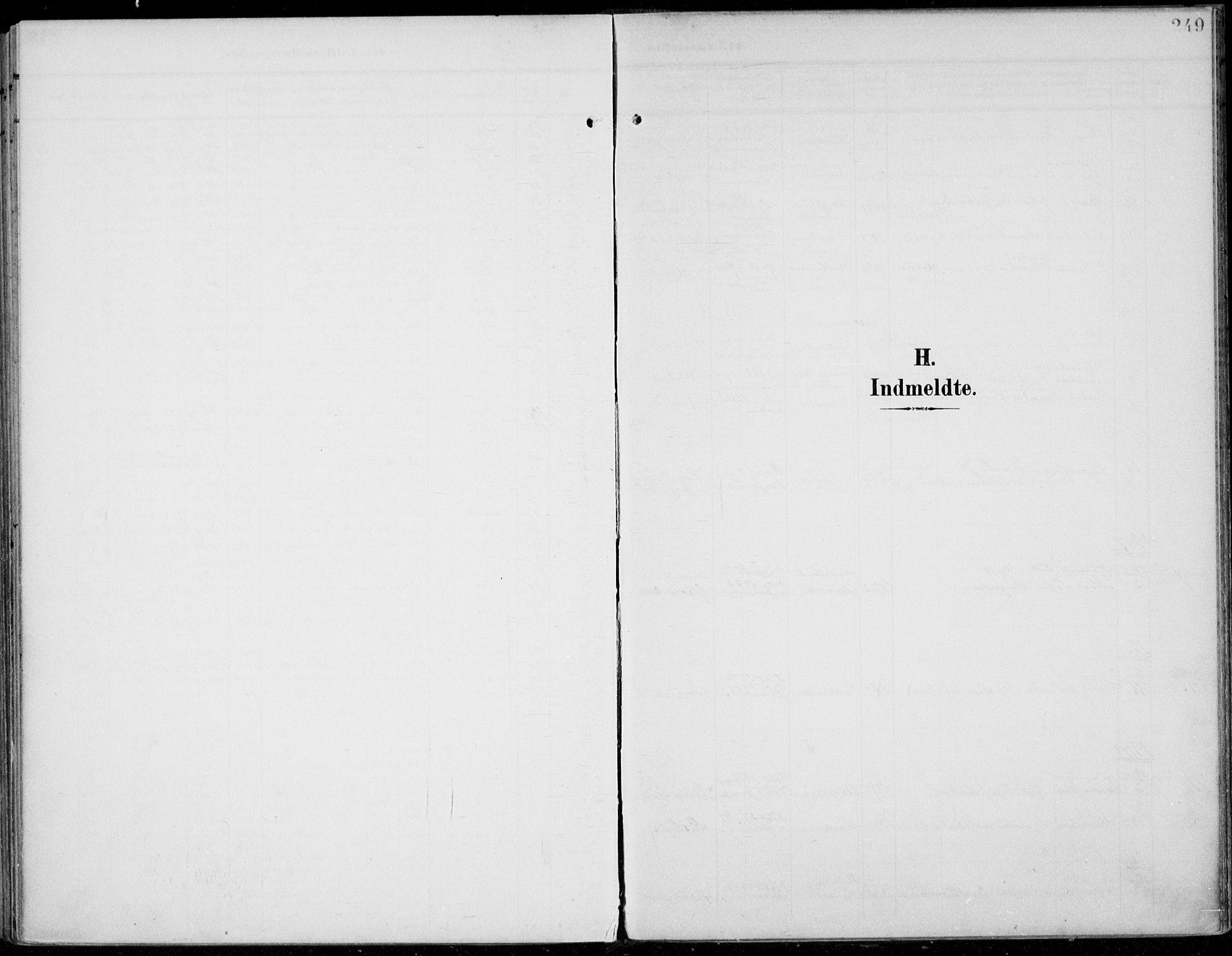 SAH, Jevnaker prestekontor, Ministerialbok nr. 11, 1902-1913, s. 249