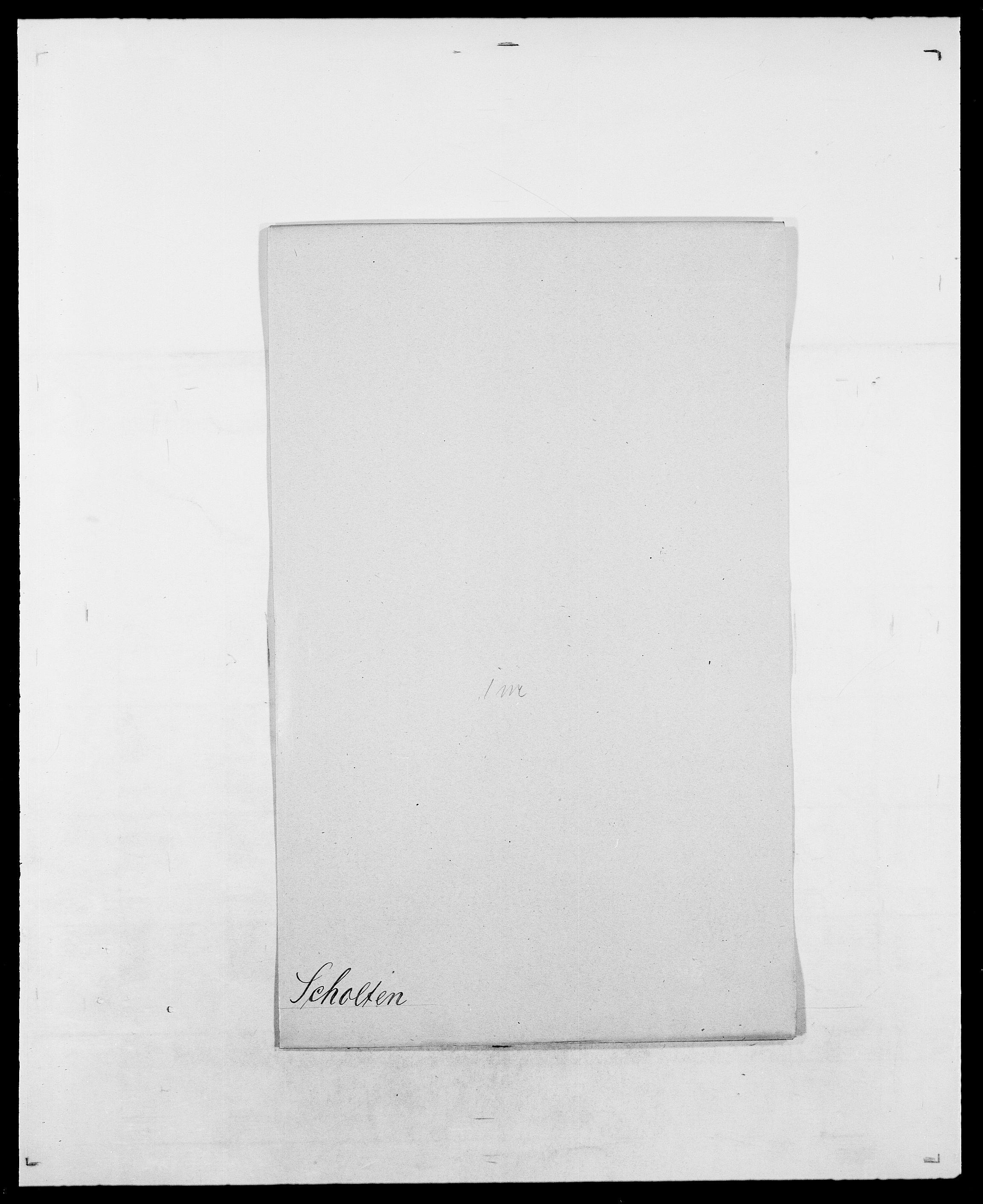 SAO, Delgobe, Charles Antoine - samling, D/Da/L0035: Schnabel - sjetman, s. 72