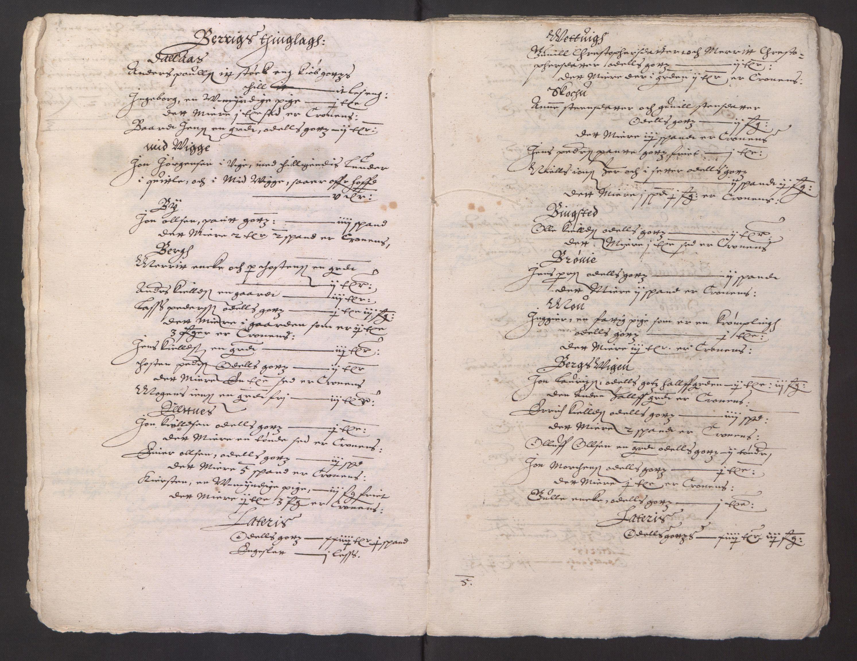 RA, Stattholderembetet 1572-1771, Ek/L0013: Jordebøker til utlikning av rosstjeneste 1624-1626:, 1624-1625, s. 100