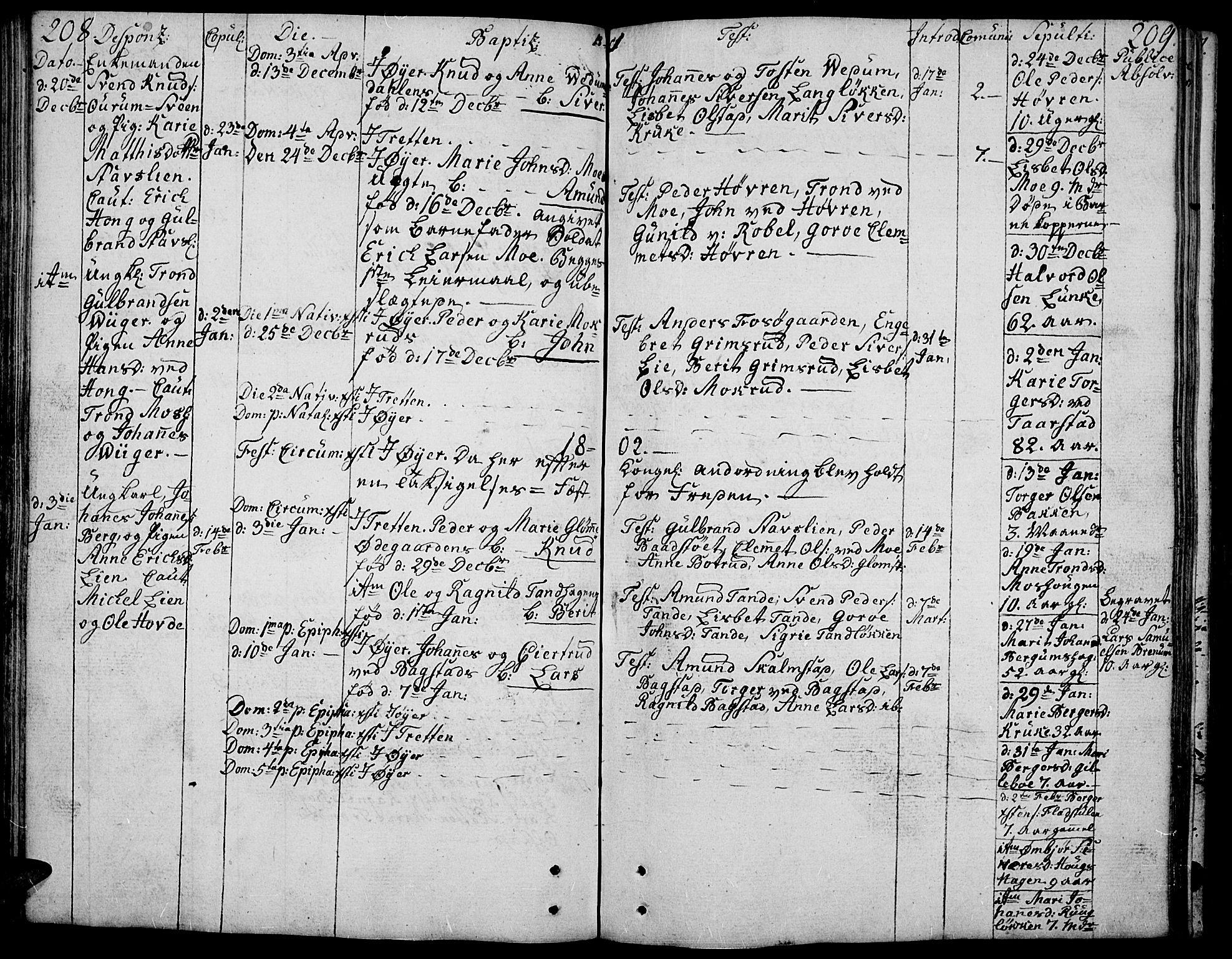 SAH, Øyer prestekontor, Ministerialbok nr. 3, 1784-1824, s. 208-209