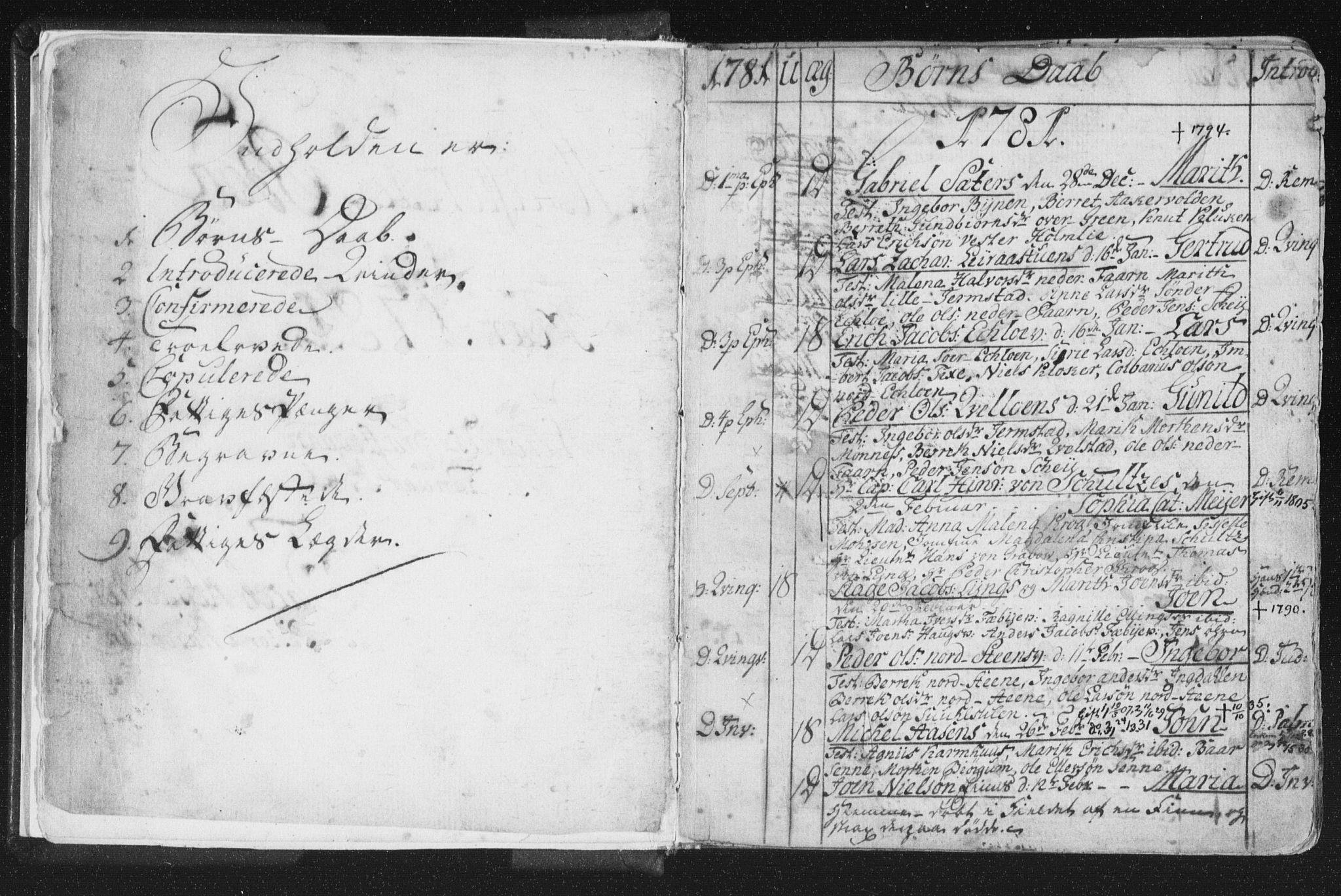 SAT, Ministerialprotokoller, klokkerbøker og fødselsregistre - Nord-Trøndelag, 723/L0232: Ministerialbok nr. 723A03, 1781-1804, s. 1