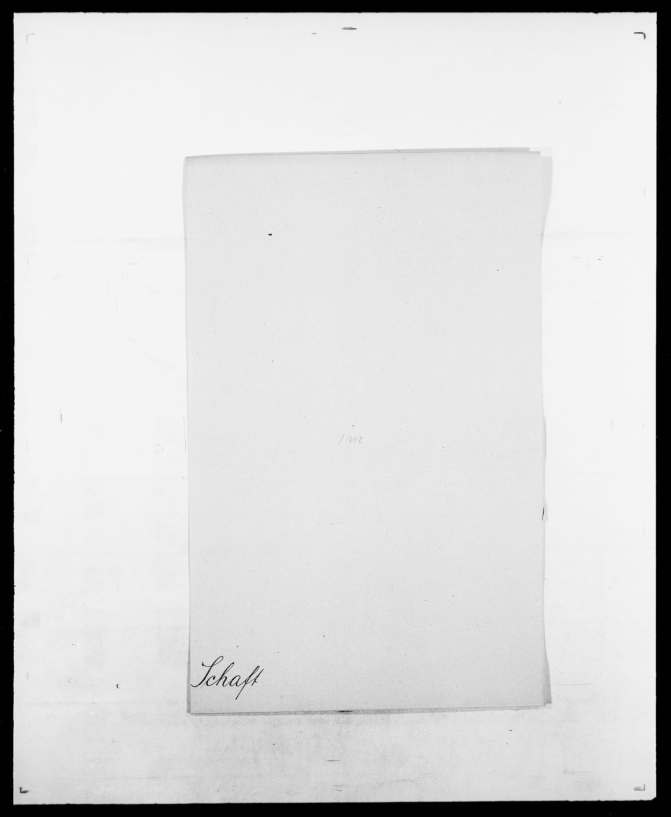 SAO, Delgobe, Charles Antoine - samling, D/Da/L0034: Saabye - Schmincke, s. 322