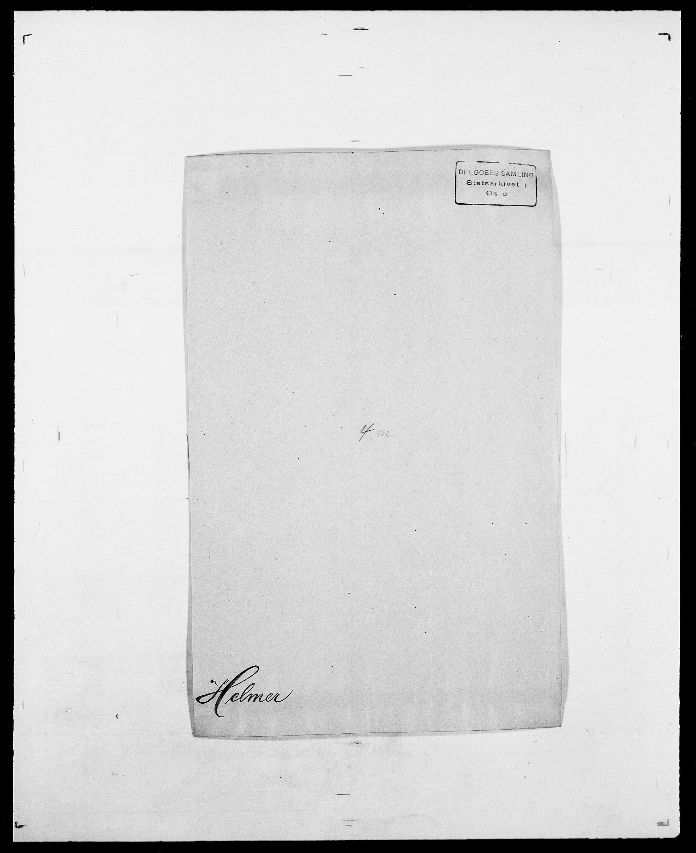 SAO, Delgobe, Charles Antoine - samling, D/Da/L0017: Helander - Hjørne, s. 93