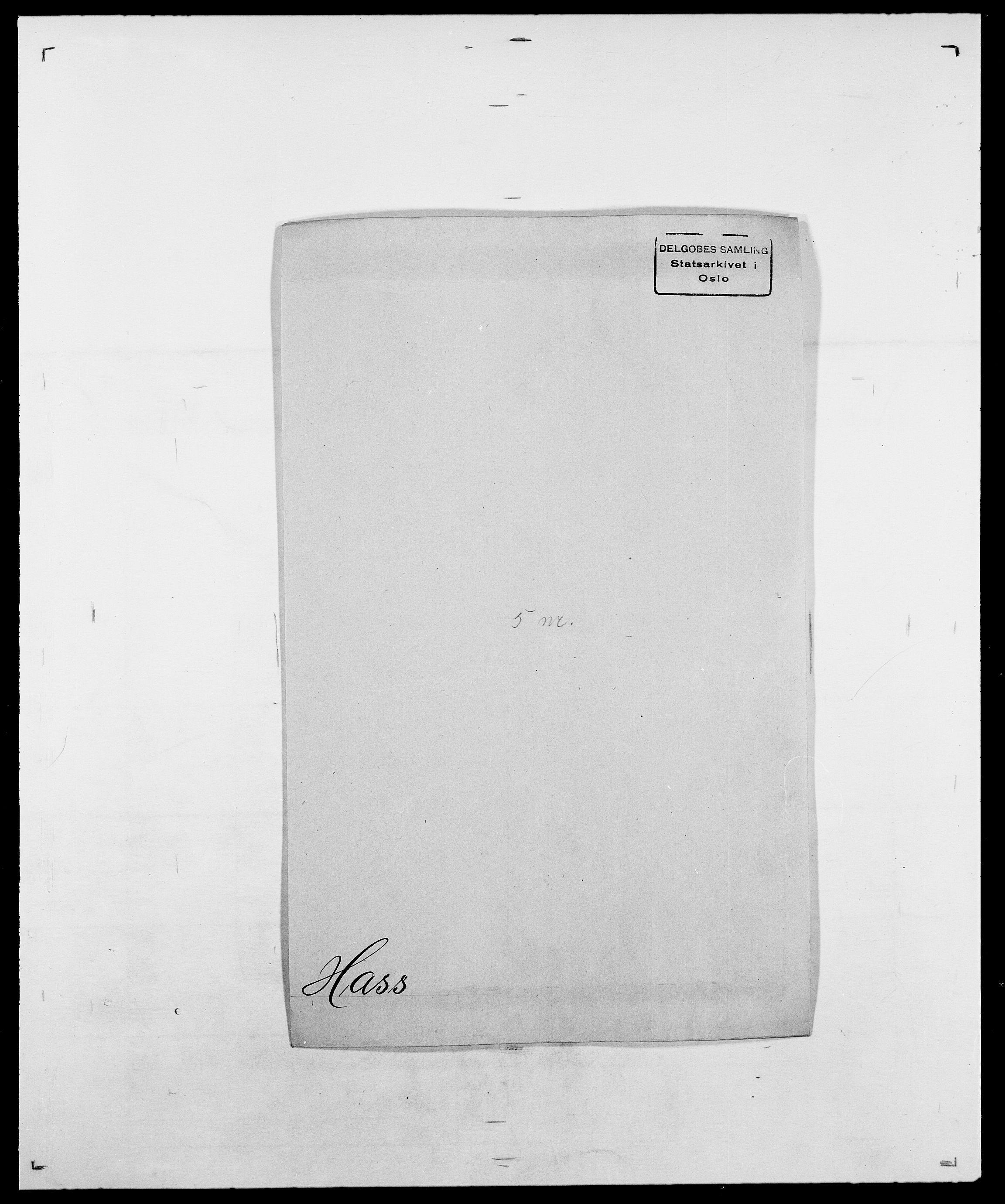 SAO, Delgobe, Charles Antoine - samling, D/Da/L0016: Hamborg - Hektoen, s. 501