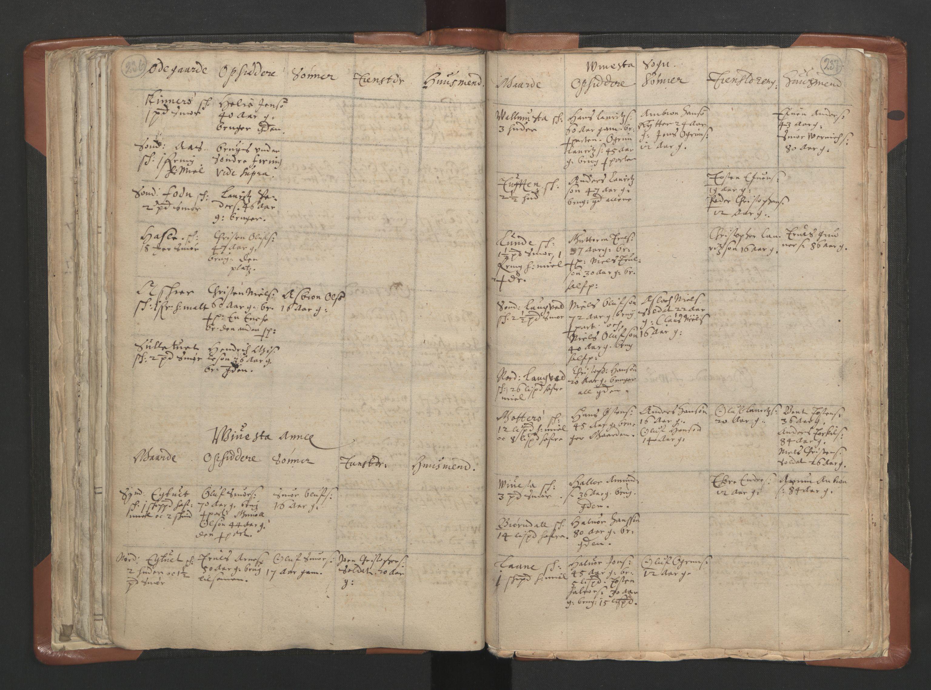 RA, Sogneprestenes manntall 1664-1666, nr. 10: Tønsberg prosti, 1664-1666, s. 236-237