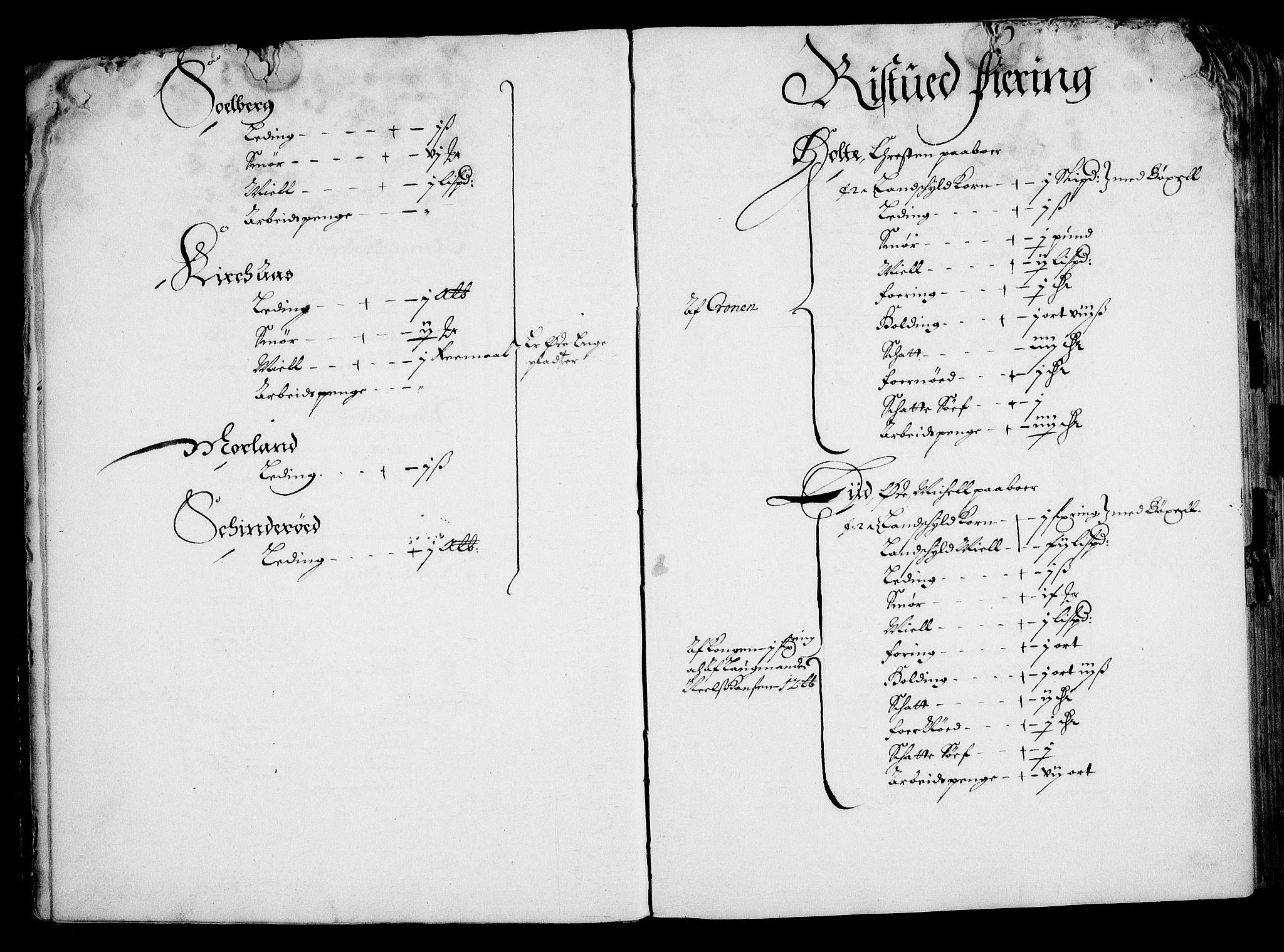RA, Rentekammeret inntil 1814, Realistisk ordnet avdeling, On/L0001: Statens gods, 1651, s. 14