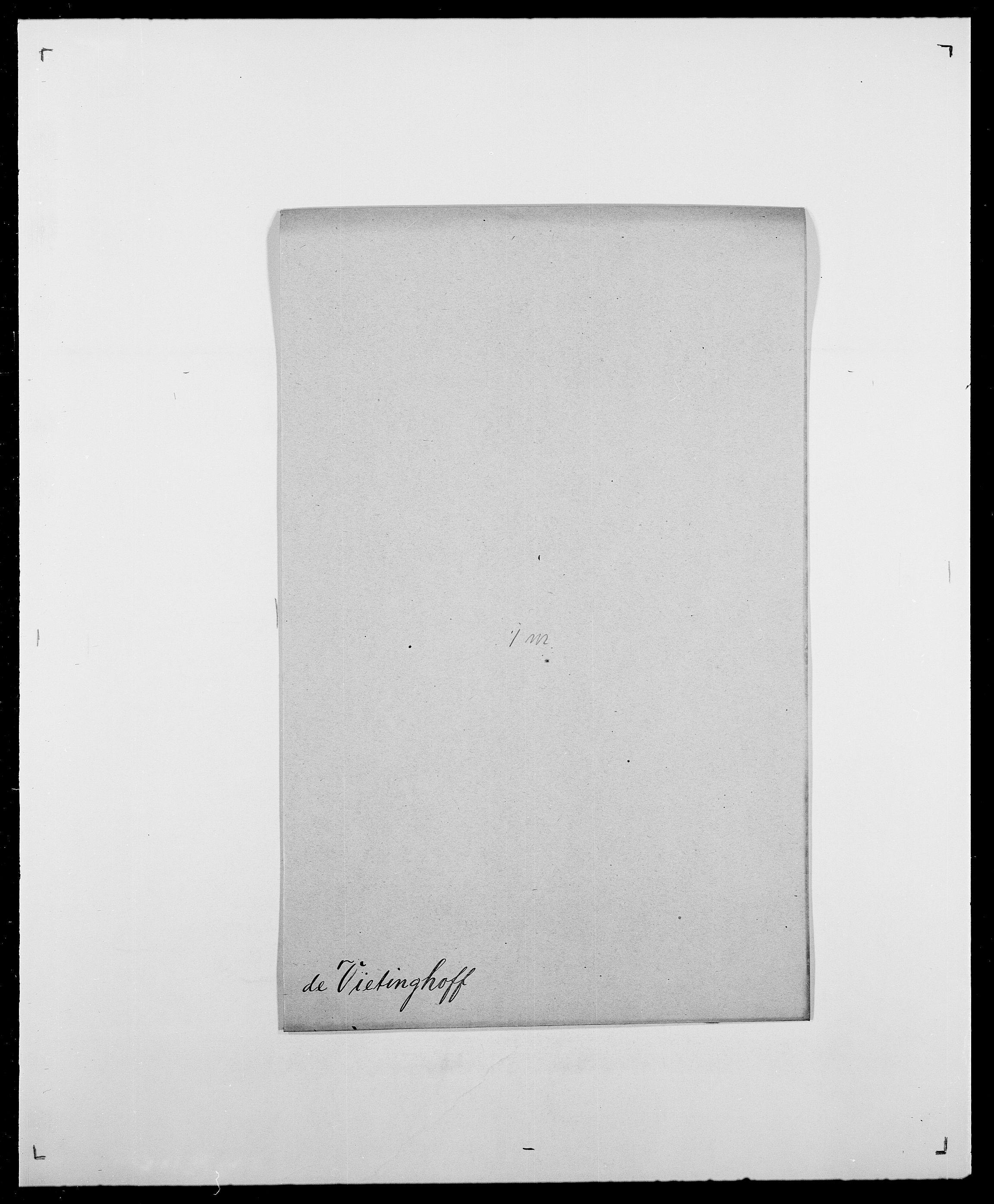 SAO, Delgobe, Charles Antoine - samling, D/Da/L0041: Vemmestad - Viker, s. 662