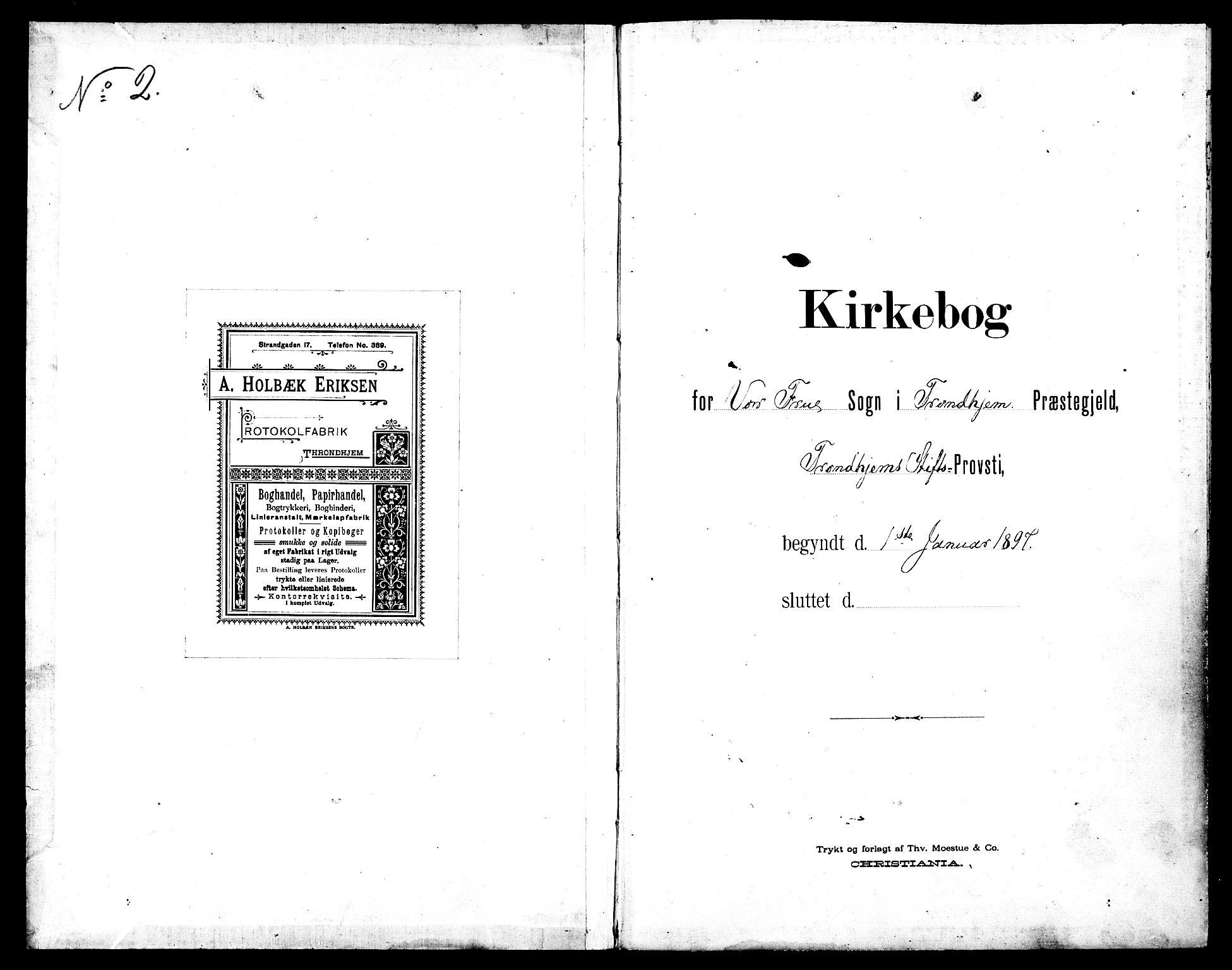 SAT, Ministerialprotokoller, klokkerbøker og fødselsregistre - Sør-Trøndelag, 602/L0144: Klokkerbok nr. 602C12, 1897-1905